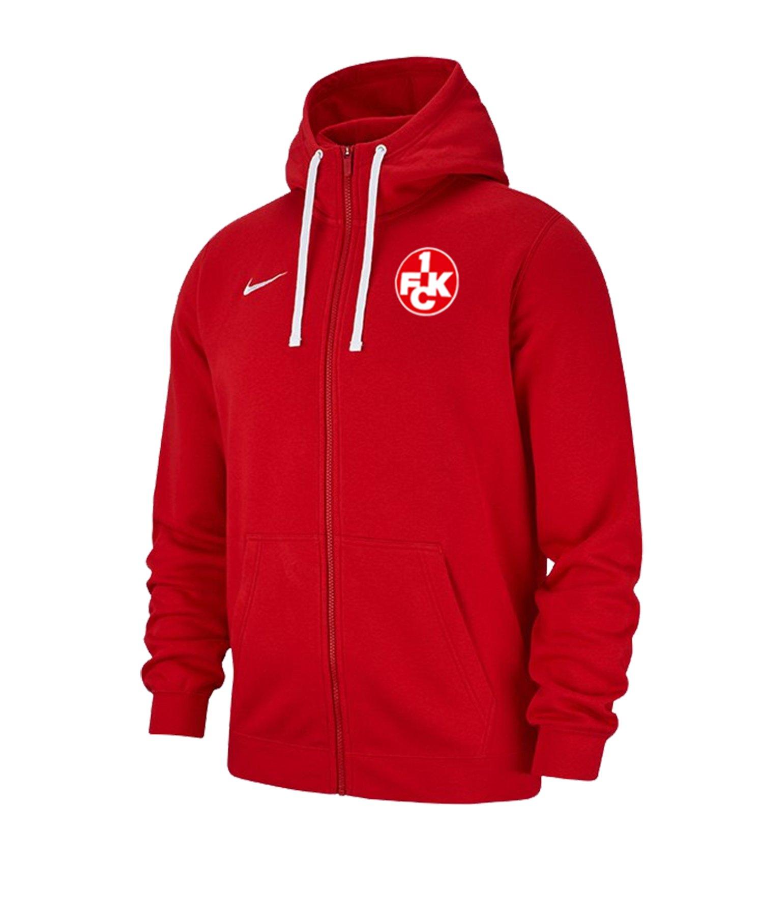 Nike 1. FC Kaiserslautern Kapuzenjacke Rot F657 - rot