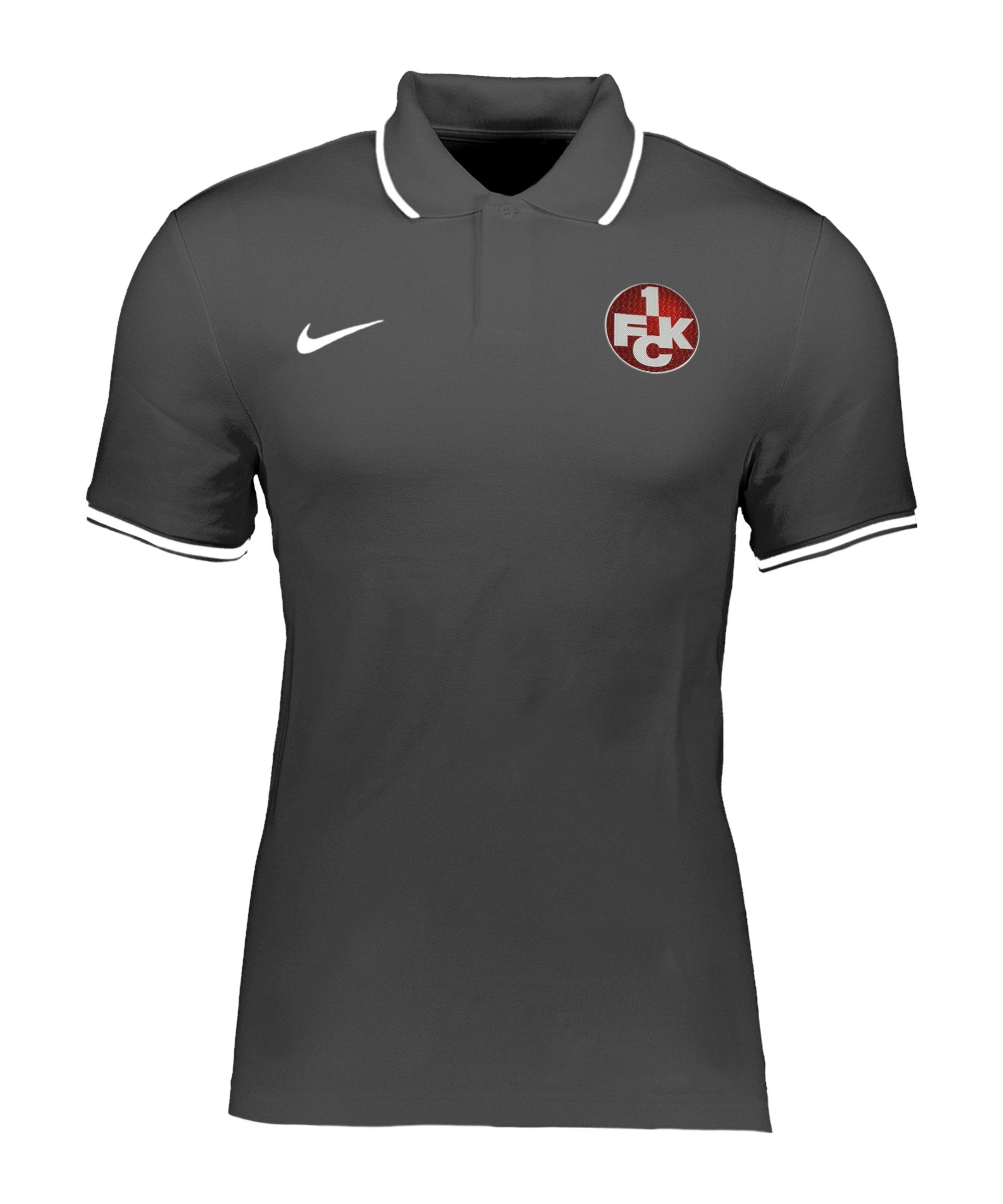 Nike 1. FC Kaiserslautern Poloshirt Saison 20/21 F071 - grau