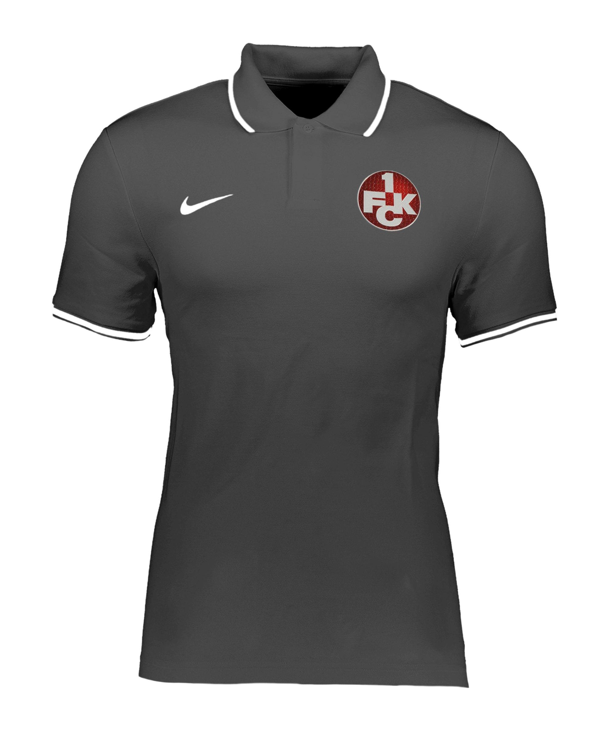 Nike 1. FC Kaiserslautern Poloshirt Kids Grau F071 - grau