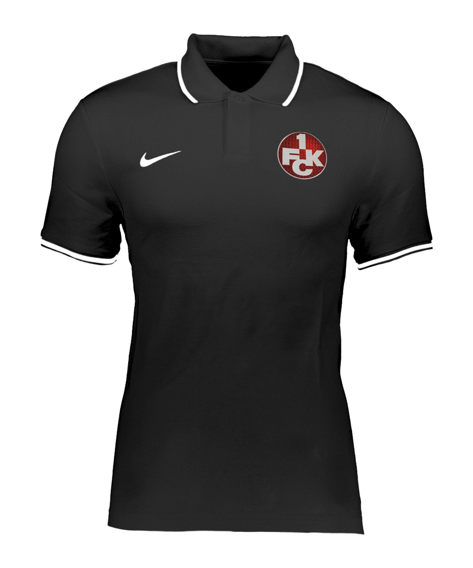 Nike 1. FC Kaiserslautern Poloshirt Kids Schwarz F010 - schwarz