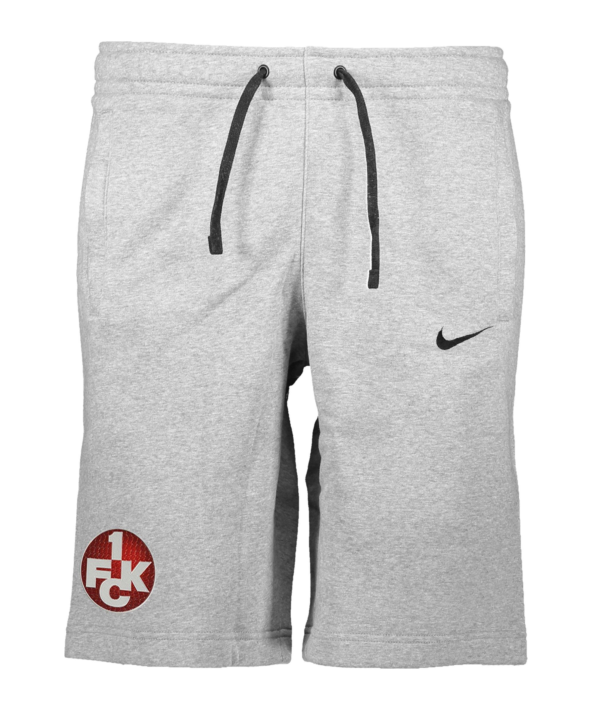 Nike 1. FC Kaiserslautern Fleece Short Kids F063 - grau