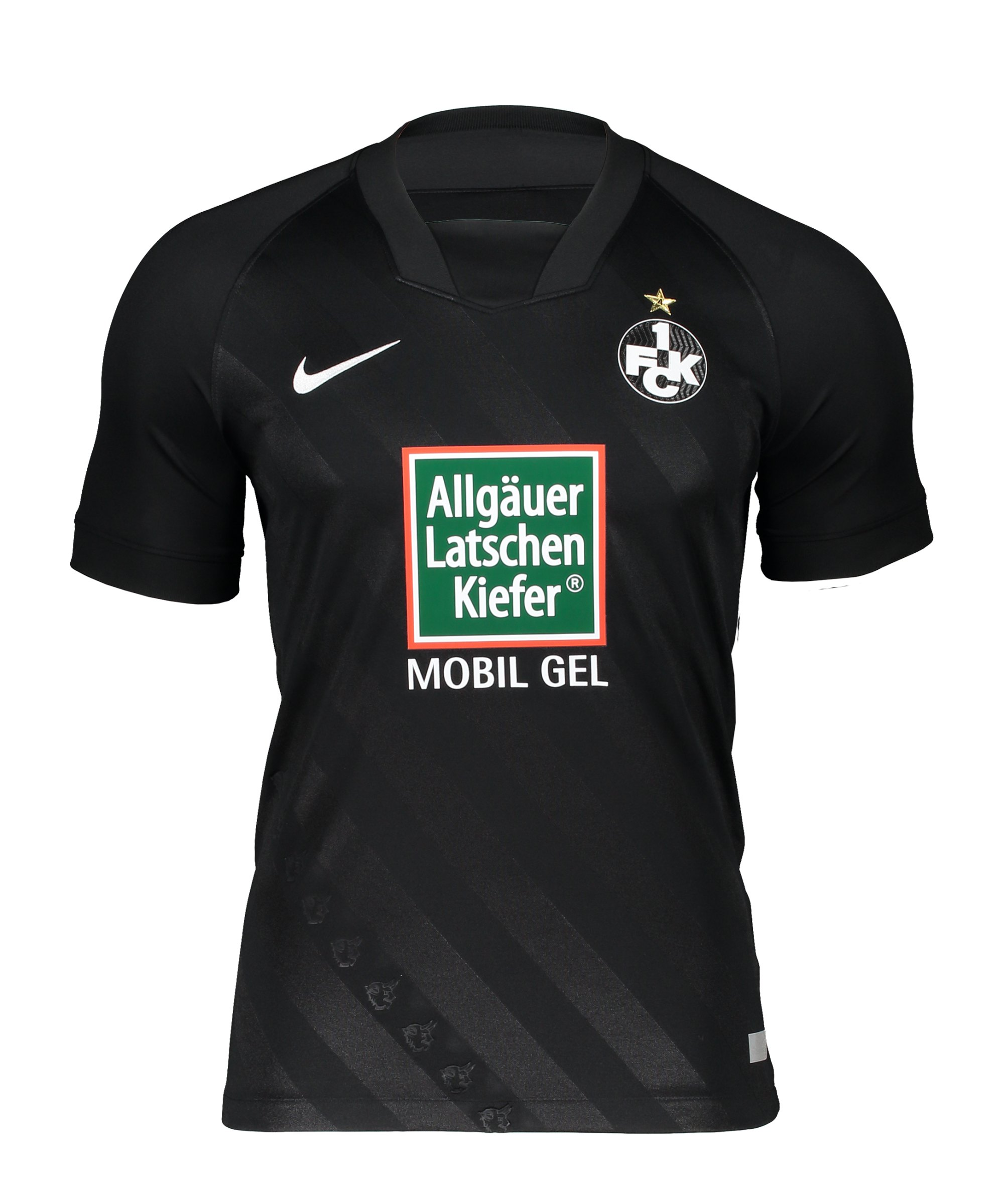 Nike 1. FC Kaiserslautern Trikot Away 2020/2021 Schwarz F010 - schwarz