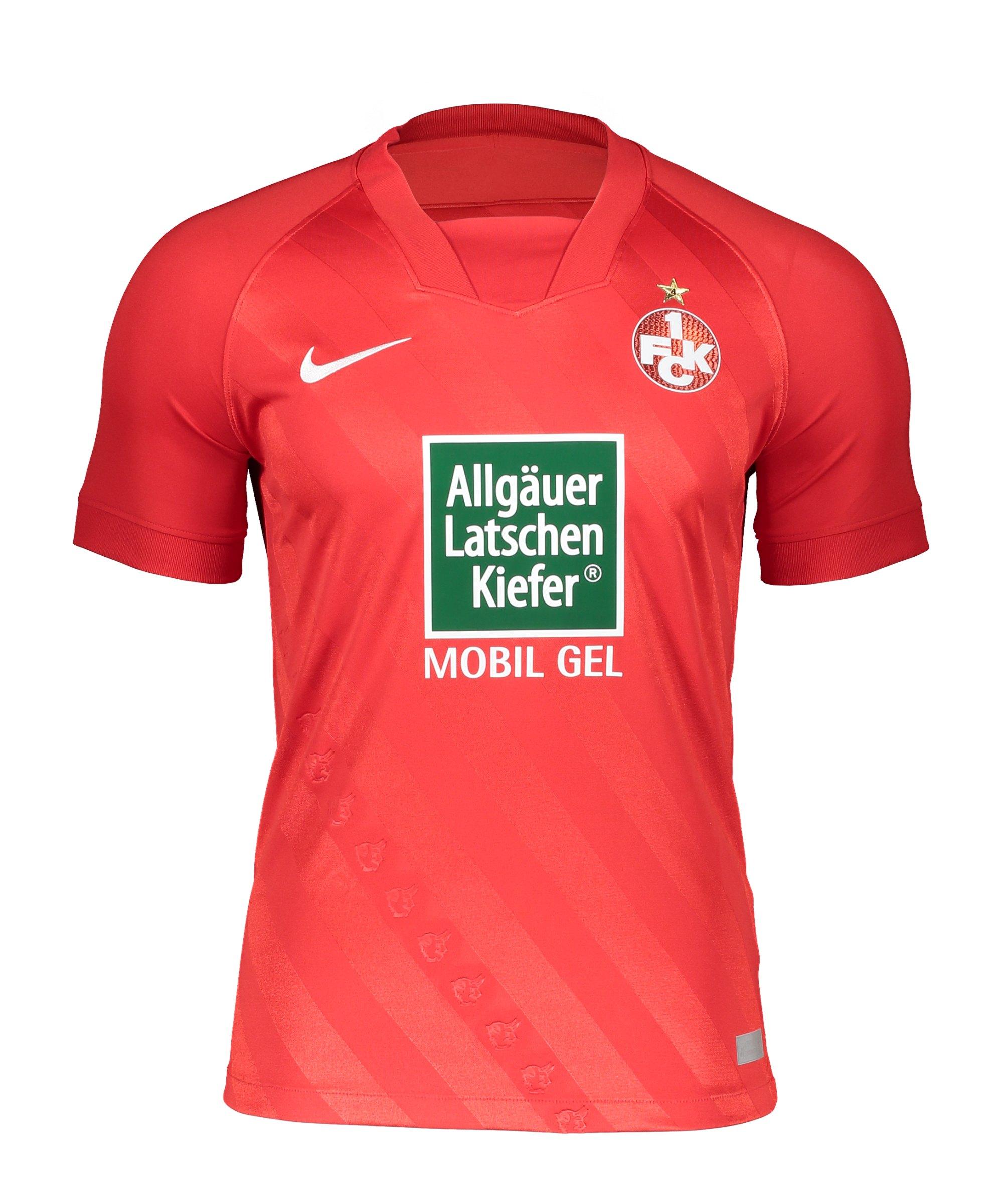 Nike 1. FC Kaiserslautern Trikot Home 2020/2021 Rot F657 - rot