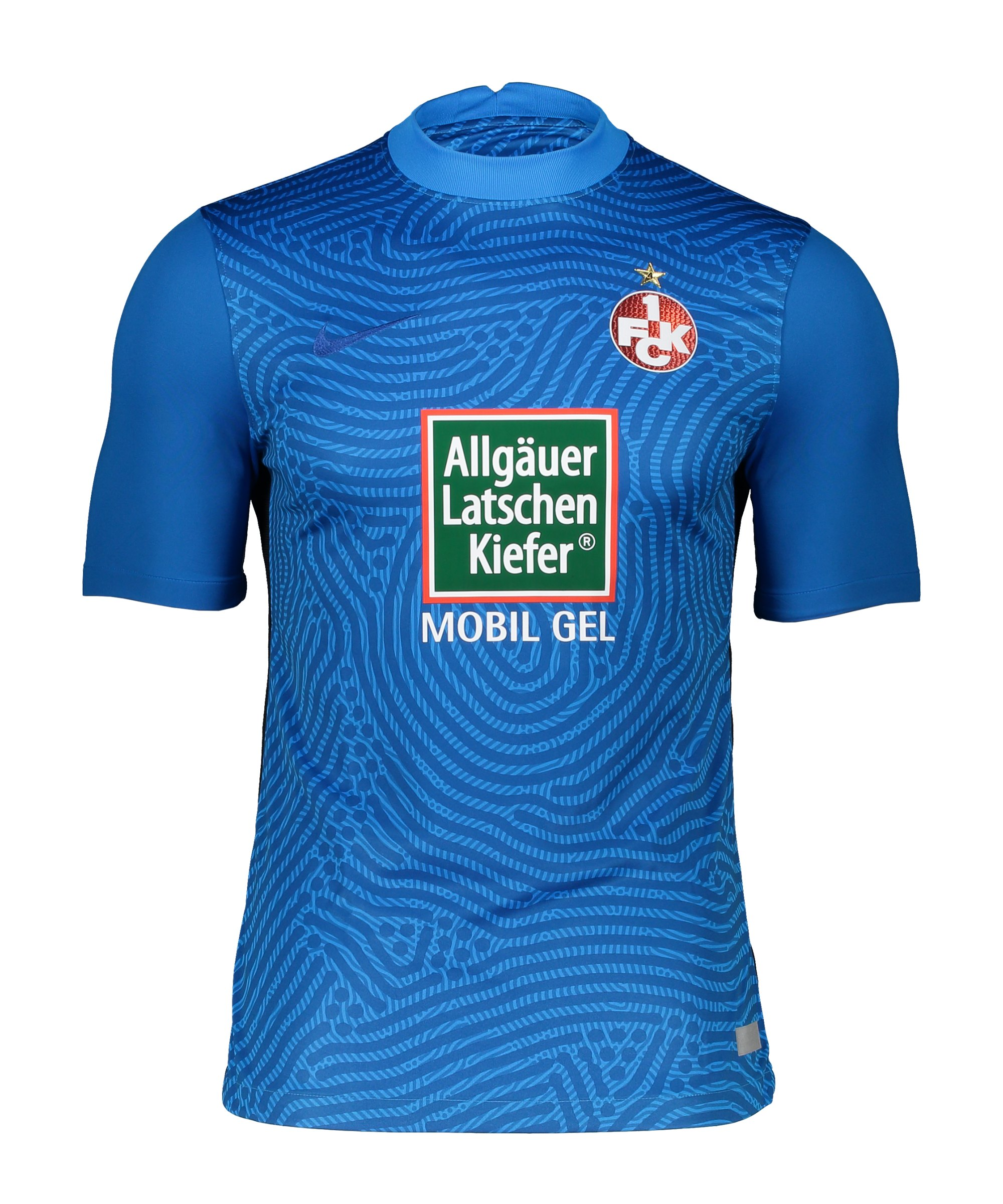 Nike 1. FC Kaiserslautern Torwarttrikot 2020/2021 Blau F477 - blau