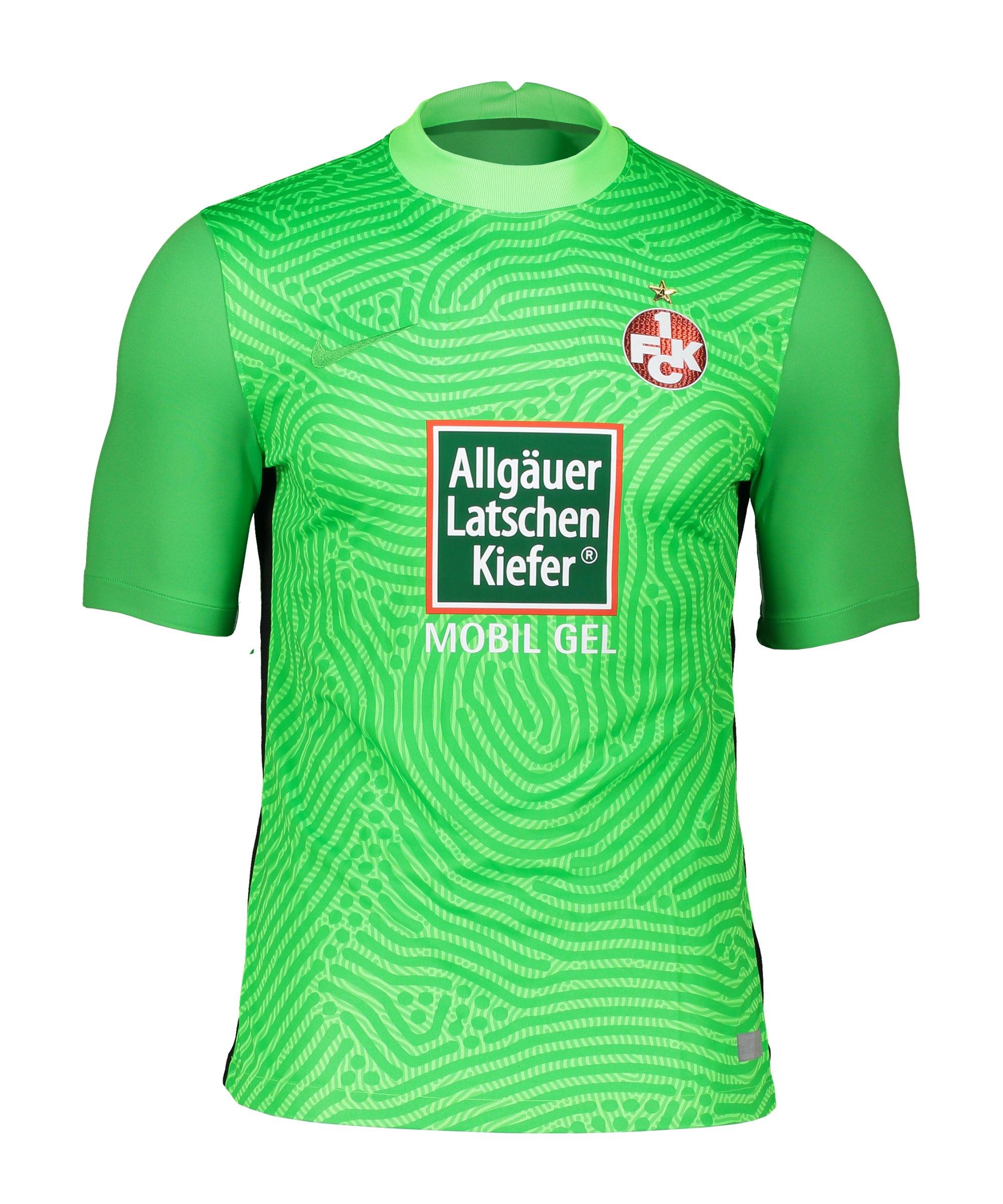Nike 1. FC Kaiserslautern Torwarttrikot 2020/2021 Grün F398 - gruen