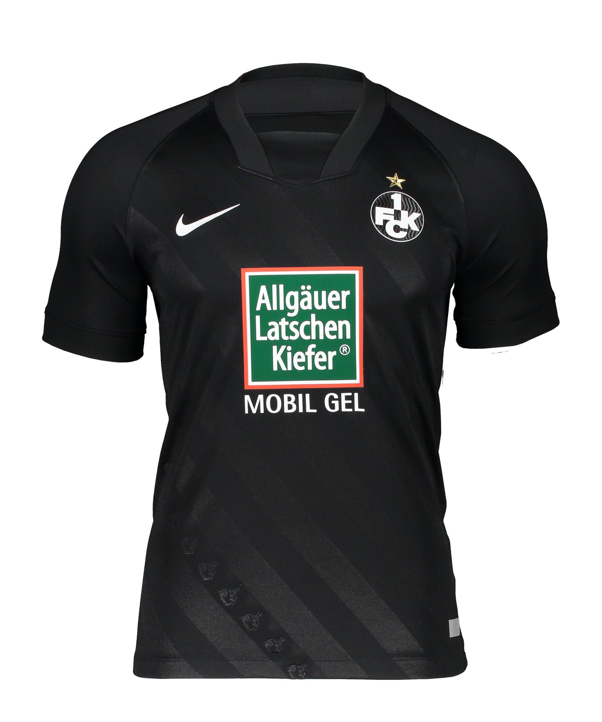 Nike 1. FC Kaiserslautern Trikot Away 2020/2021 Kids Schwarz F010 - schwarz