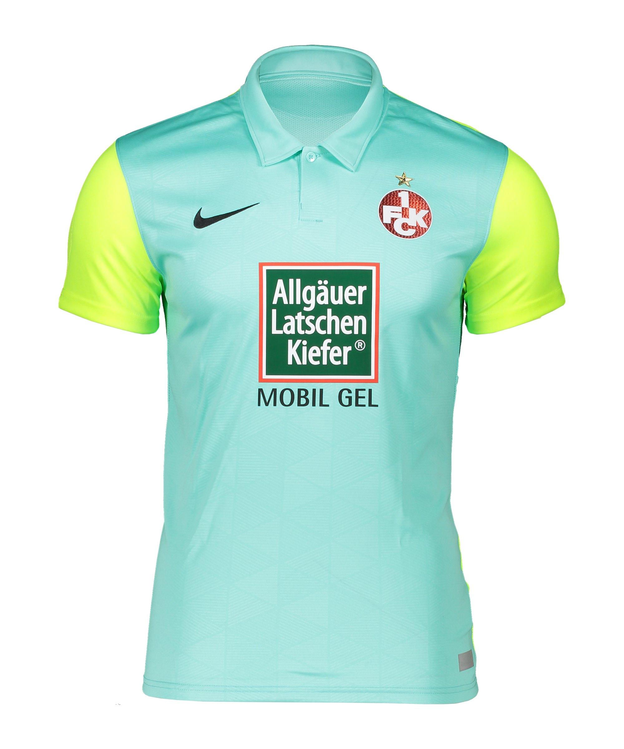 Nike 1. FC Kaiserslautern Trikot 3rd 2020/2021 Kids Grün F354 - gruen