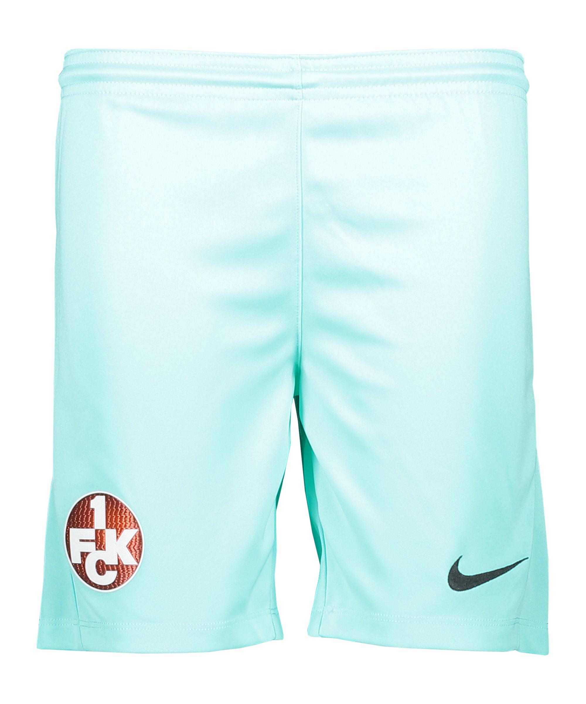 Nike 1. FC Kaiserslautern Short 3rd 2020/2021 Kids Grün F354 - gruen