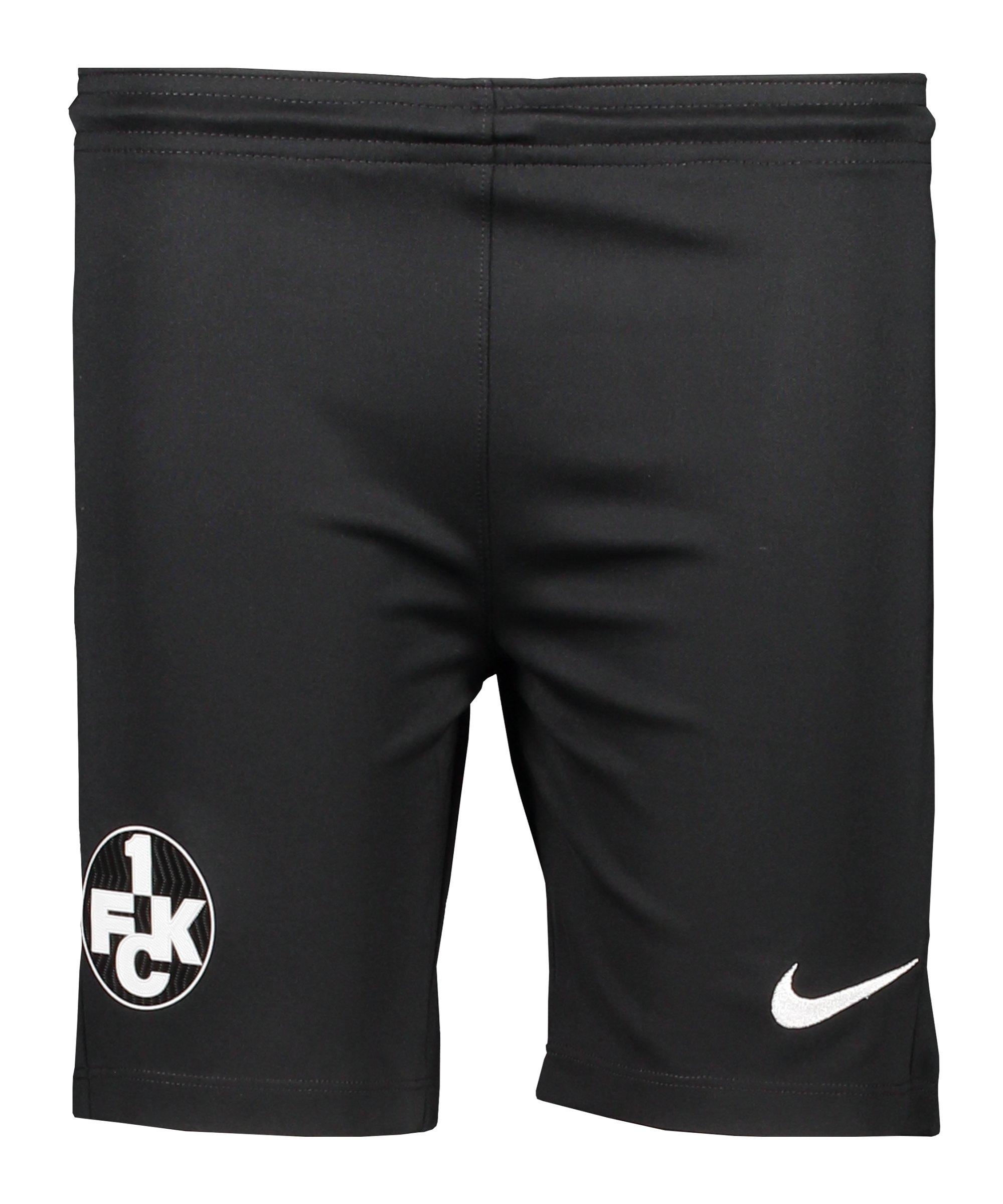 Nike 1. FC Kaiserslautern Short Away 2020/2021 Kids Schwarz F010 - schwarz