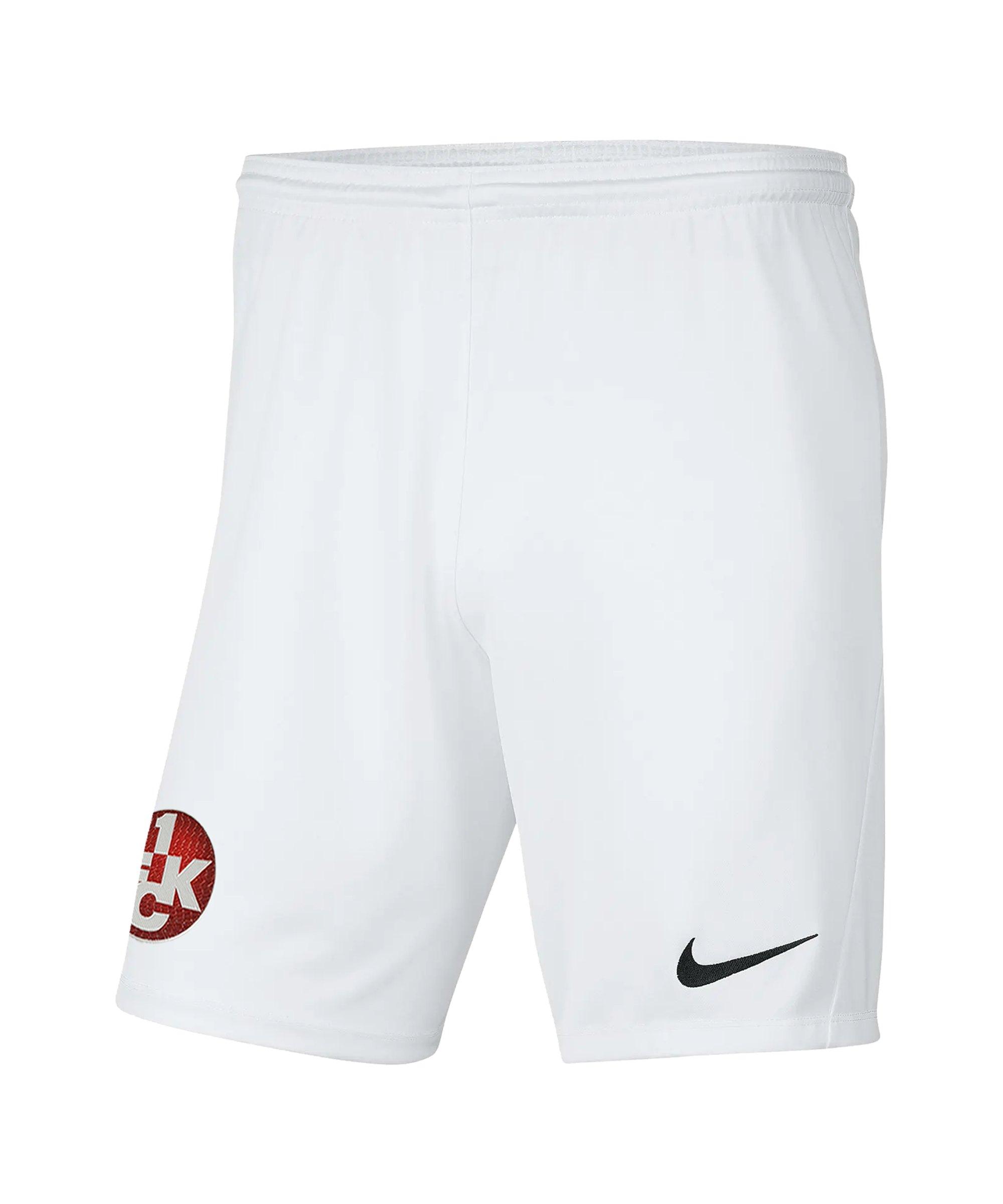 Nike 1. FC Kaiserslautern Short Away 2021/2022 Kids F100 - weiss