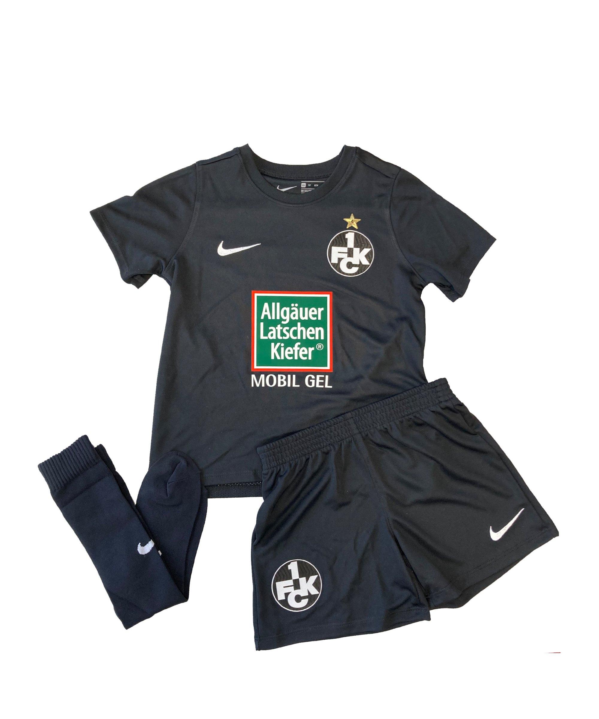 Nike 1. FC Kaiserslautern Minikit Away 2020/2021 F010 - schwarz