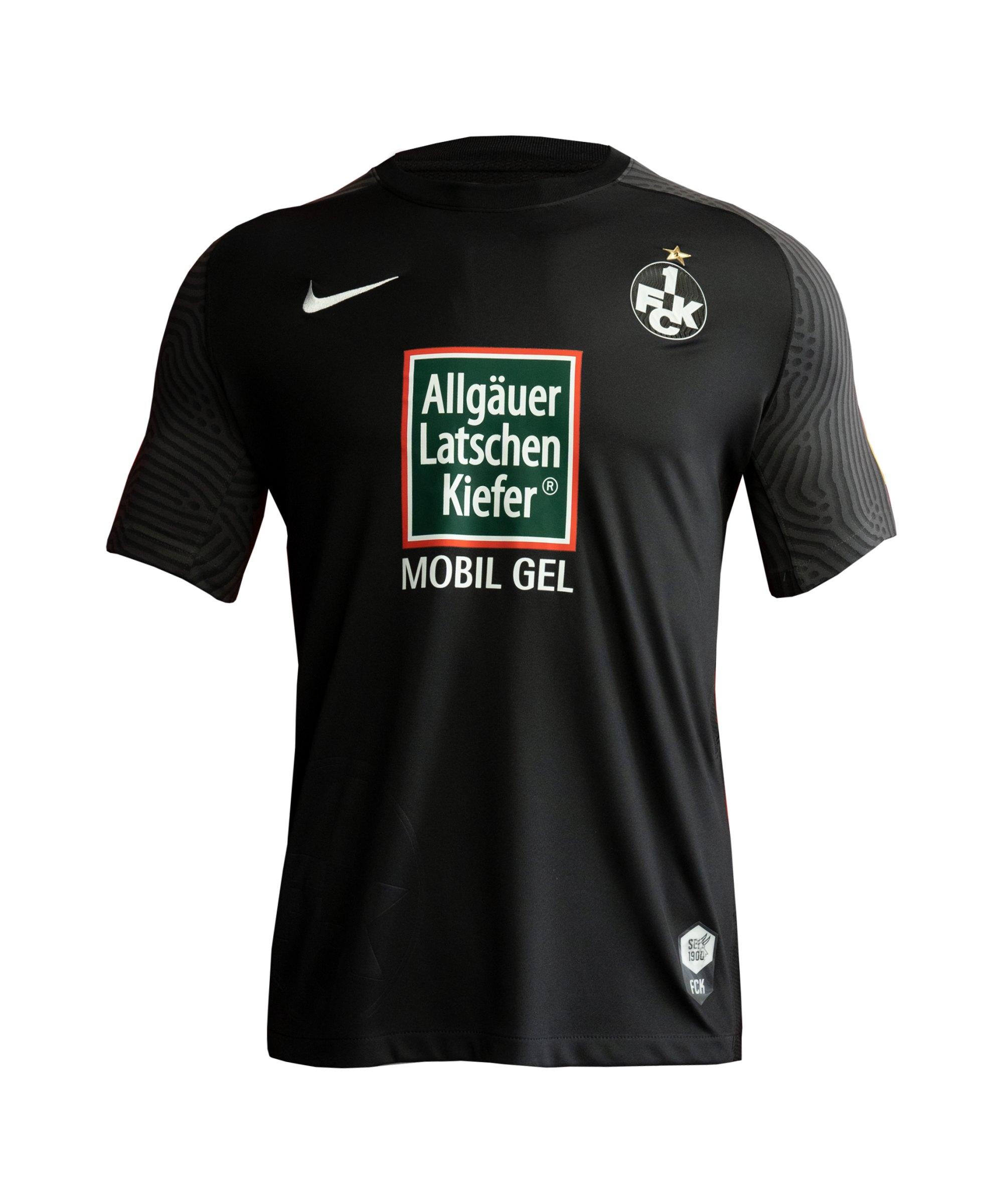 Nike 1. FC Kaiserslautern Trikot 3rd 2021/2022 Kids Schwarz F010 - schwarz