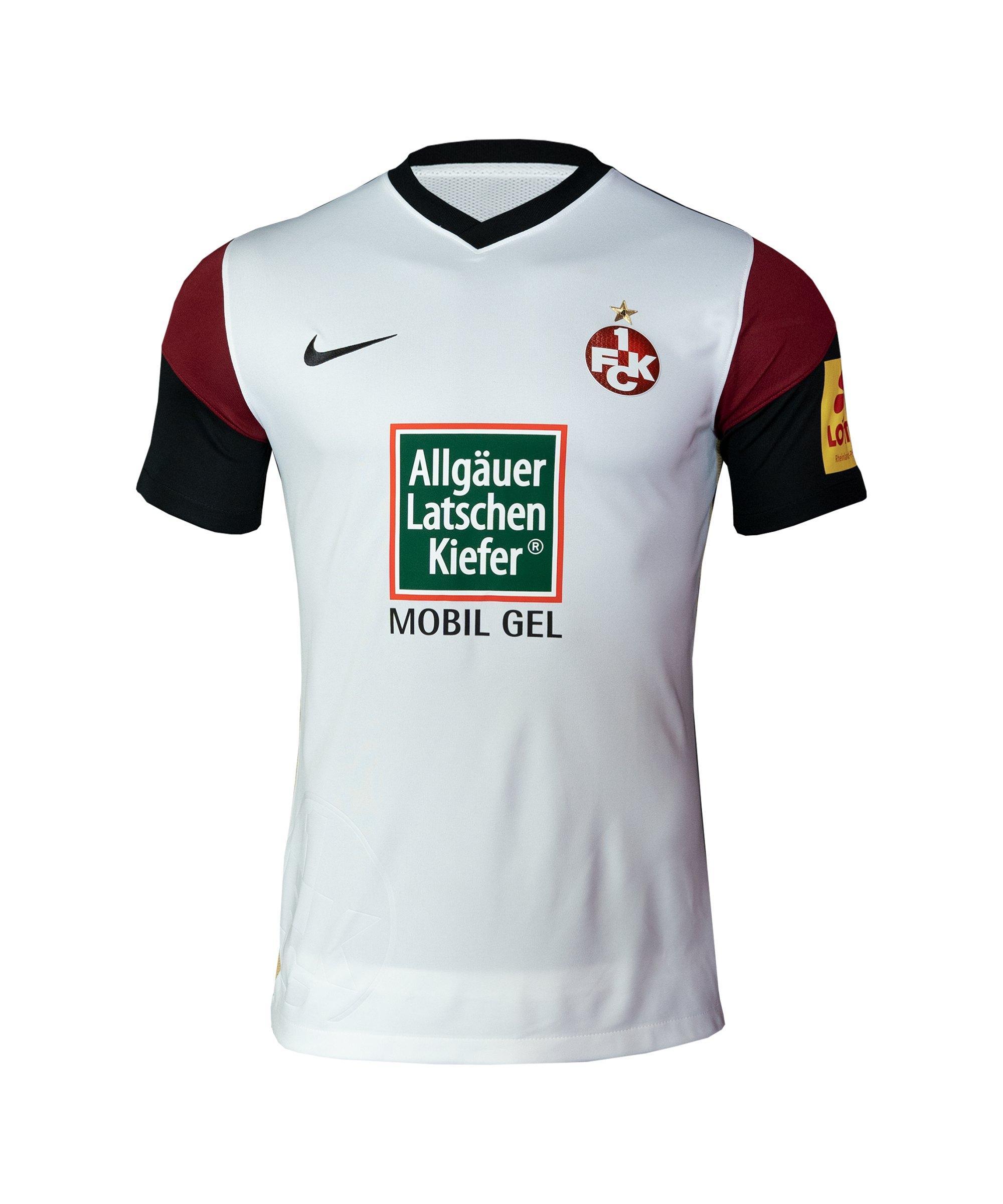 Nike 1. FC Kaiserslautern Trikot Away 2021/2022 Kids Weiss F100 - weiss