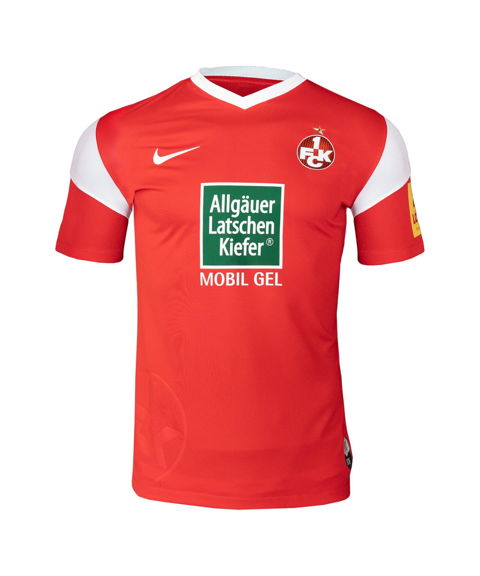 Nike 1. FC Kaiserslautern Trikot Home 2021/2022 Kids Rot F657 - rot