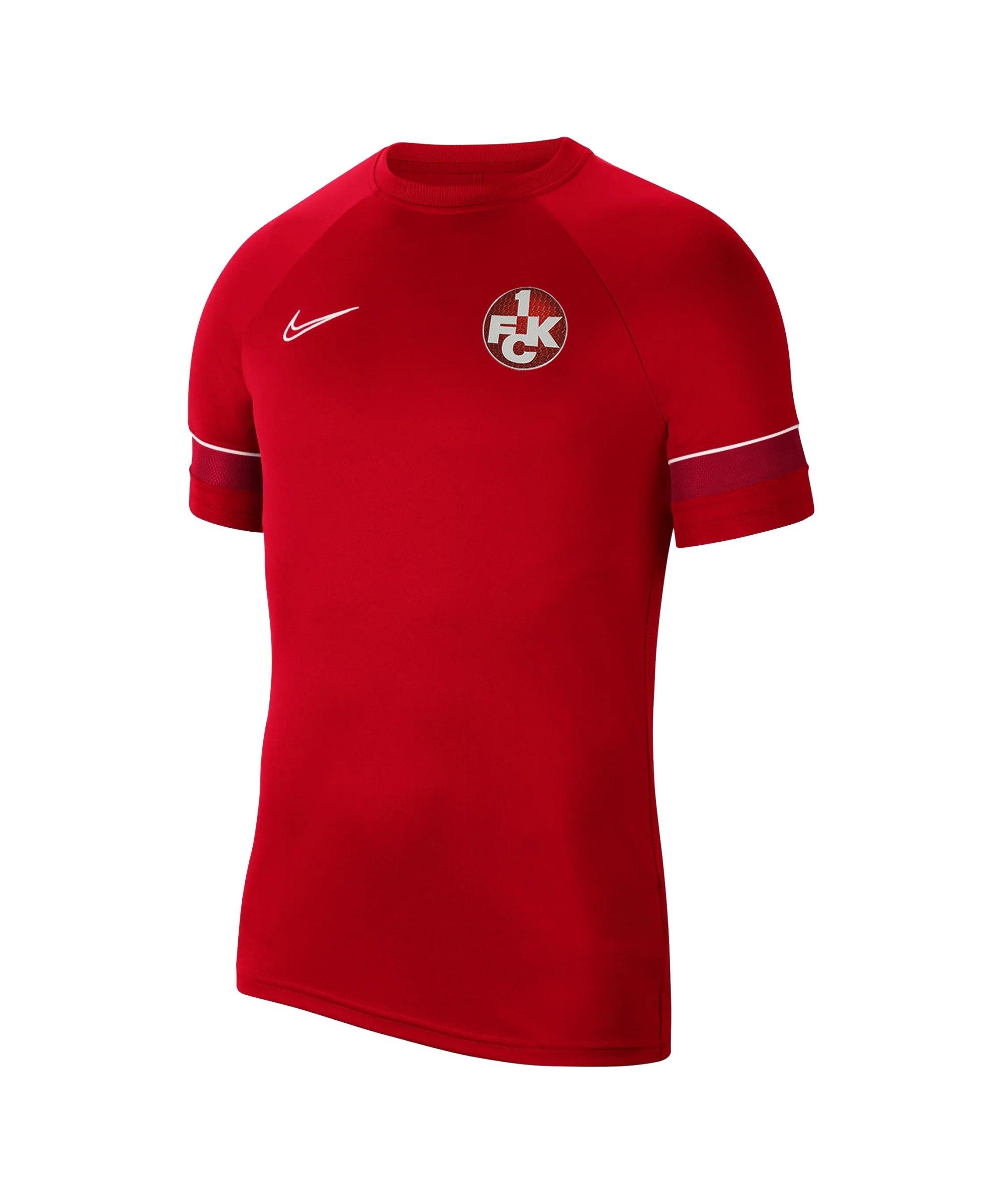 Nike 1. FC Kaiserslautern Trainingsshirt Kids F657 - rot