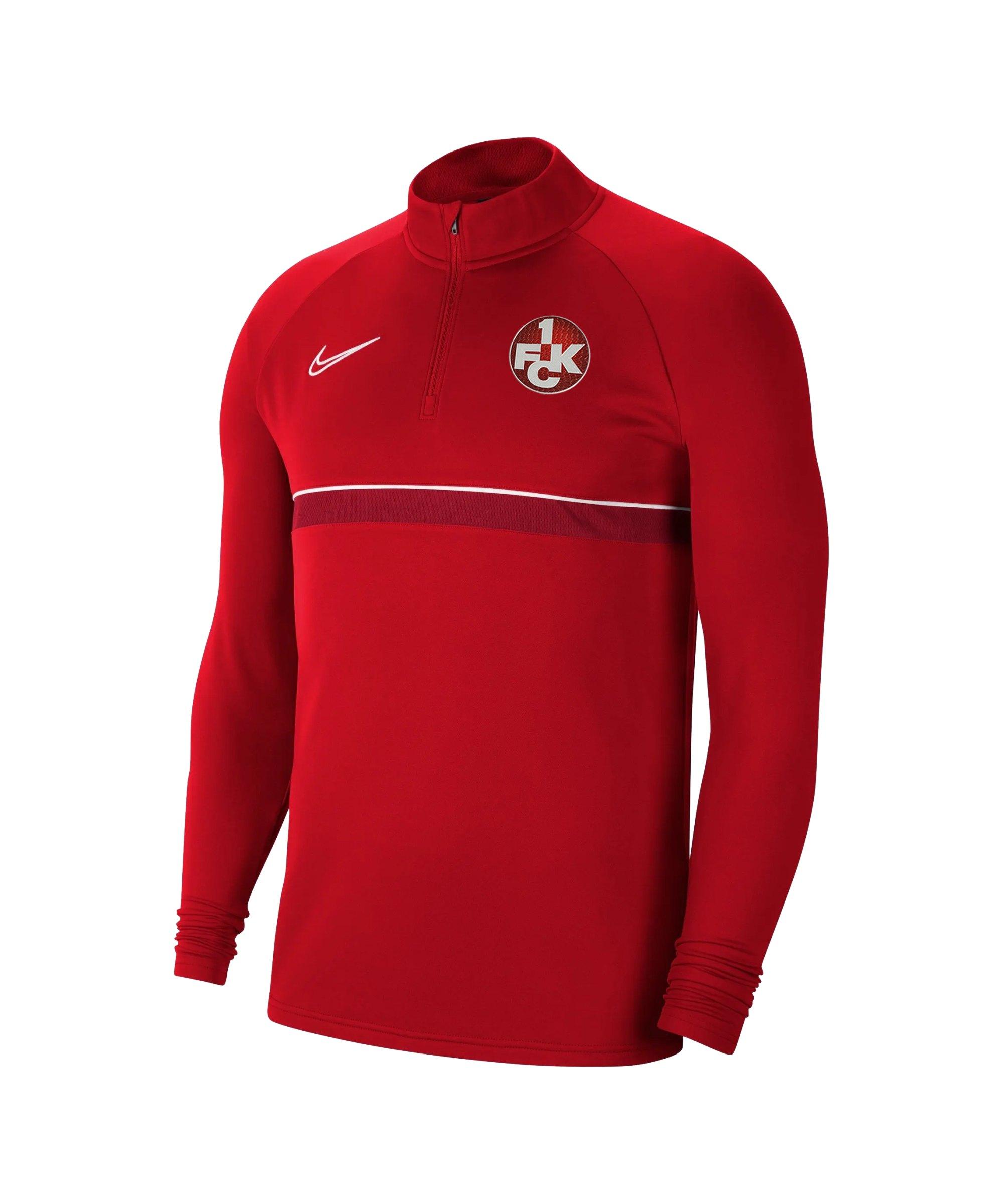 Nike 1. FC Kaiserslautern Drill Sweatshirt Kids F657 - rot