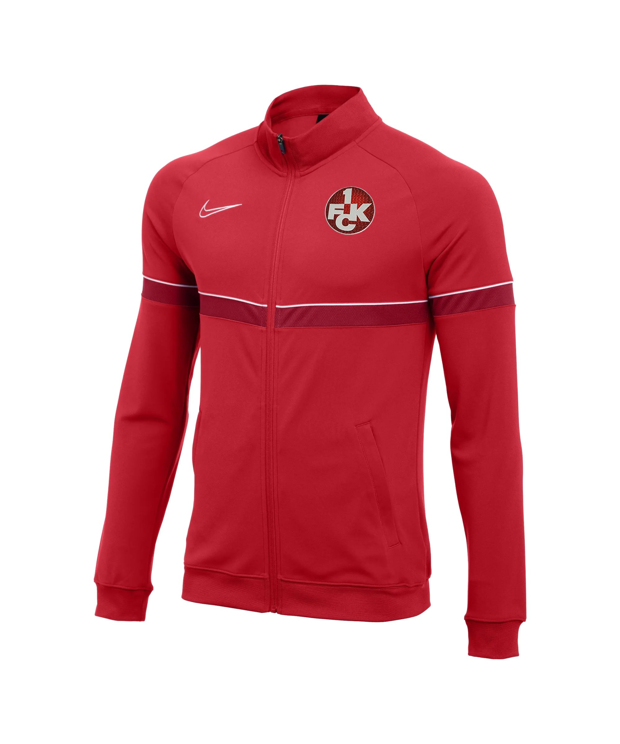 Nike 1. FC Kaiserslautern Trainingsjacke Kids F657 - rot