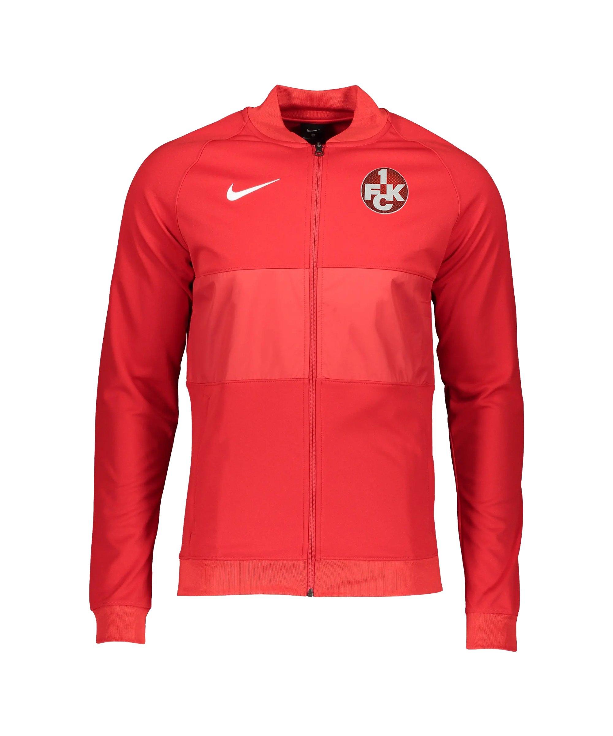 Nike 1. FC Kaiserslautern Präsentationsjacke Rot F657 - rot