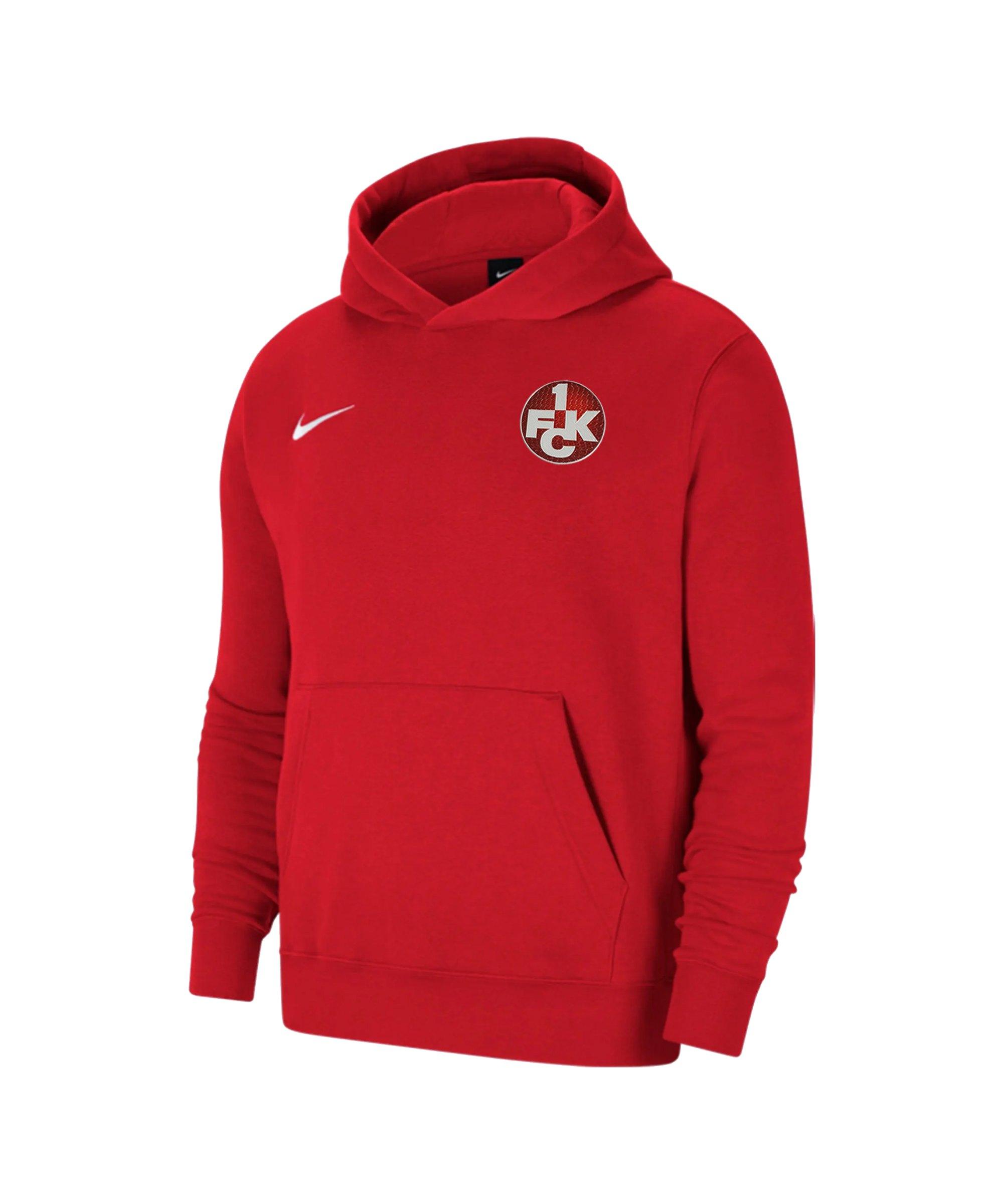 Nike 1. FC Kaiserslautern Hoody Kids Rot F657 - rot