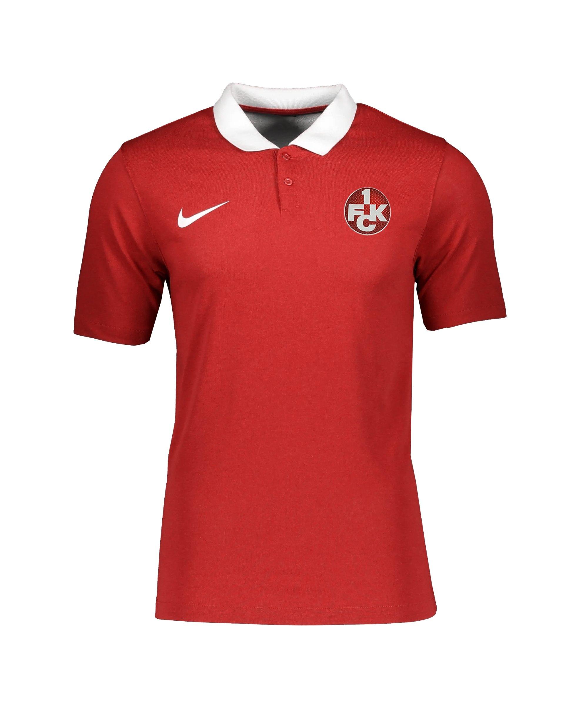 Nike 1. FC Kaiserslautern Polo Rot F657 - rot
