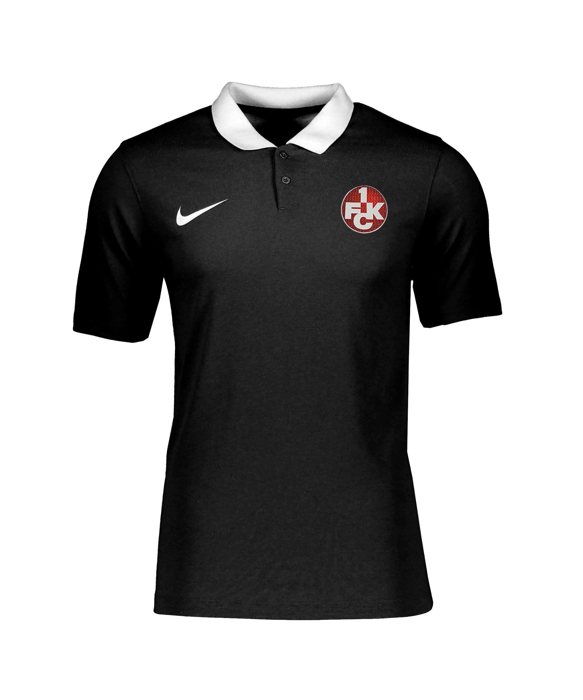 Nike 1. FC Kaiserslautern Polo Schwarz F010 - schwarz