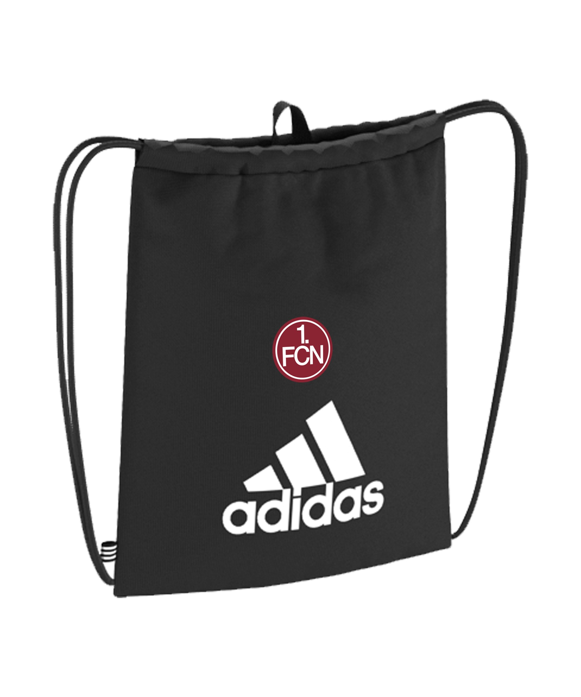 adidas 1. FC Nürnberg Tiro Gymsack Schwarz - schwarz