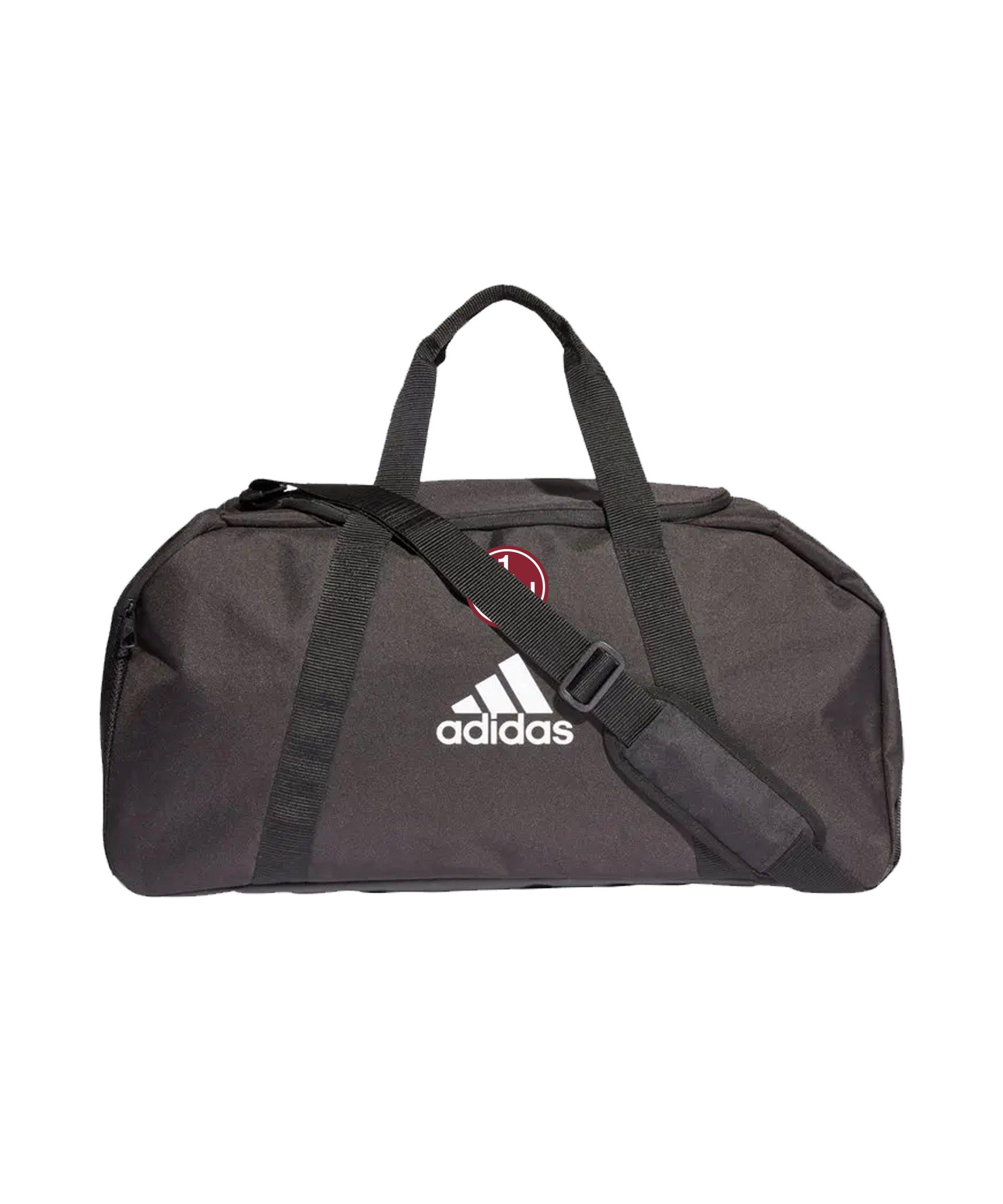 adidas 1. FC Nürnberg Tasche Schwarz - schwarz