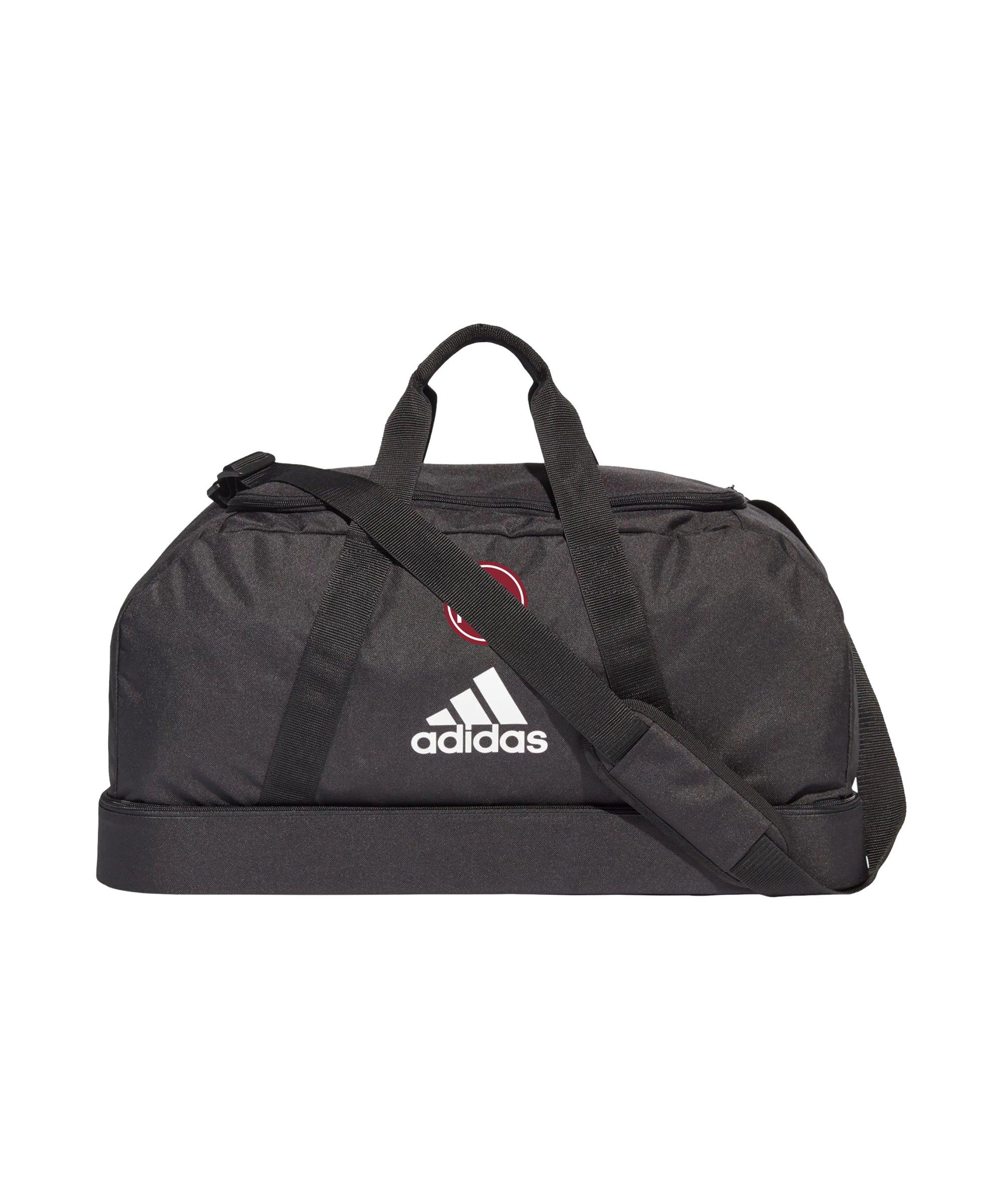 adidas 1. FC Nürnberg Tasche Hardcase Schwarz - schwarz