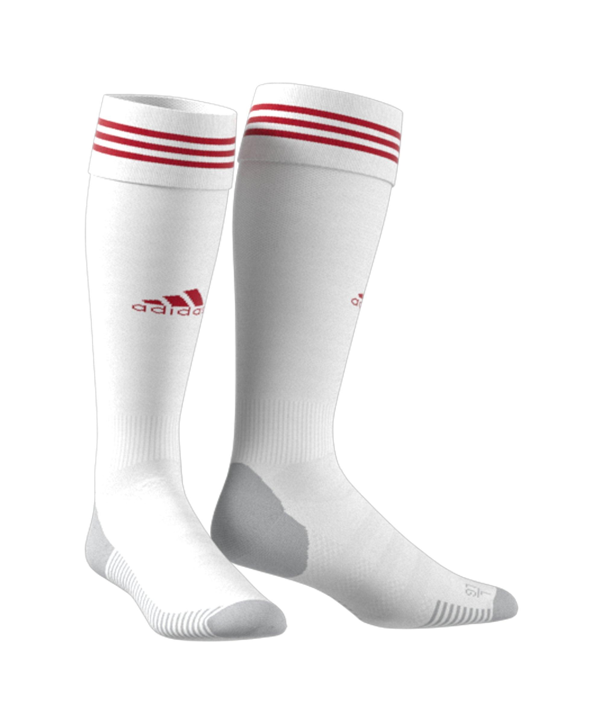 adidas 1. FC Nürnberg Stutzen Away 21/22 Weiss - weiss
