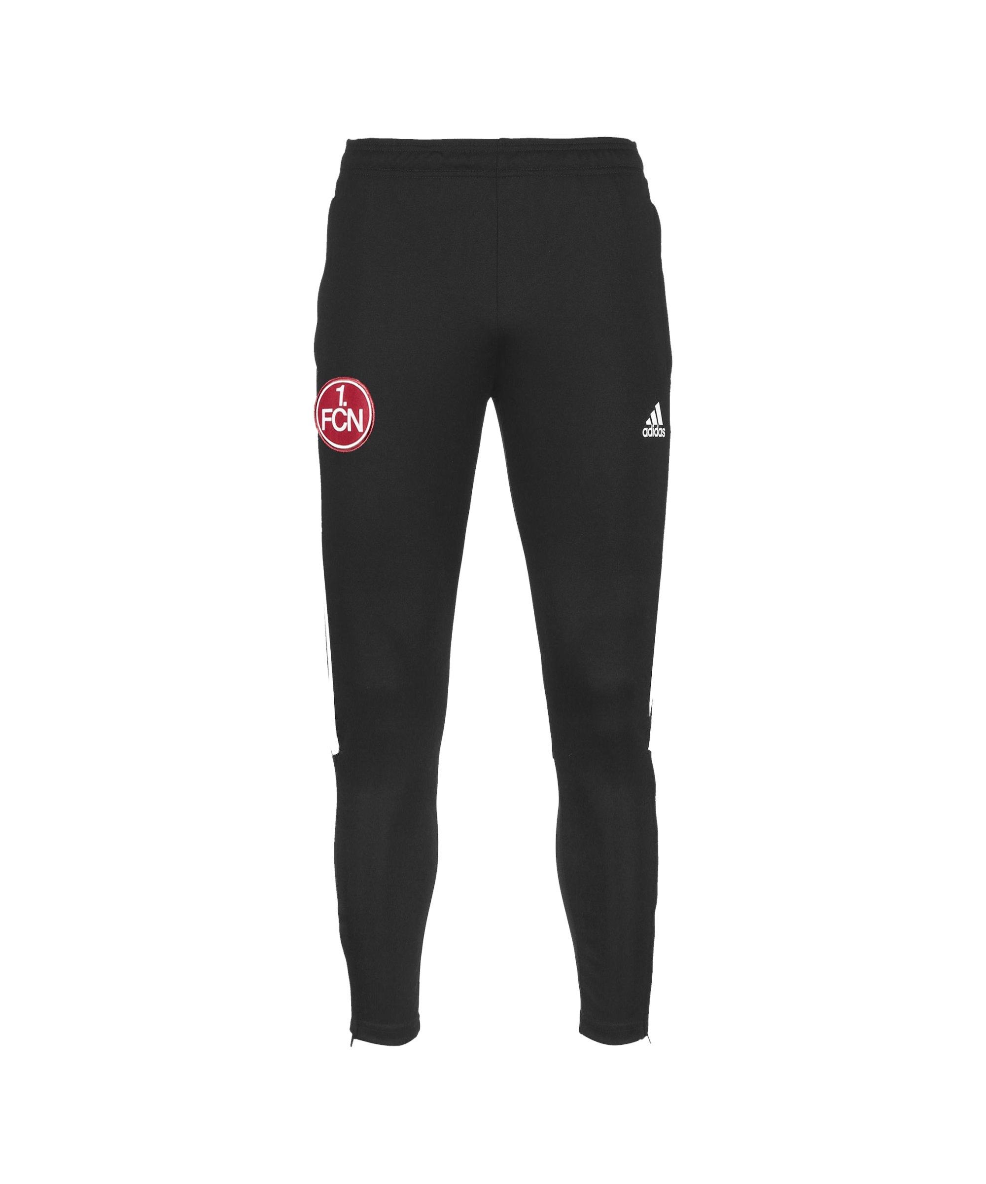 adidas 1. FC Nürnberg Jogginghose Schwarz - schwarz