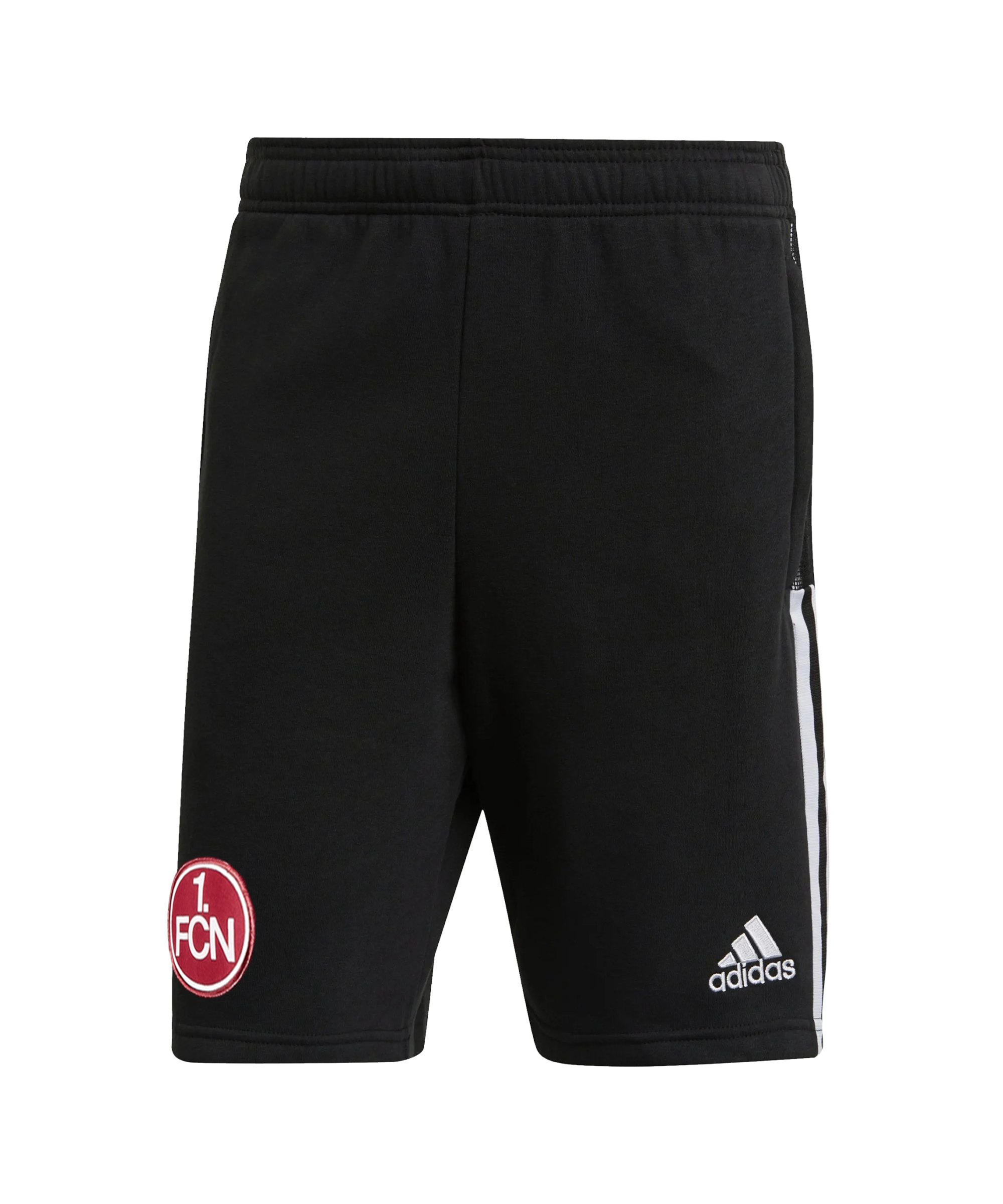 adidas 1. FC Nürnberg Short Schwarz - schwarz