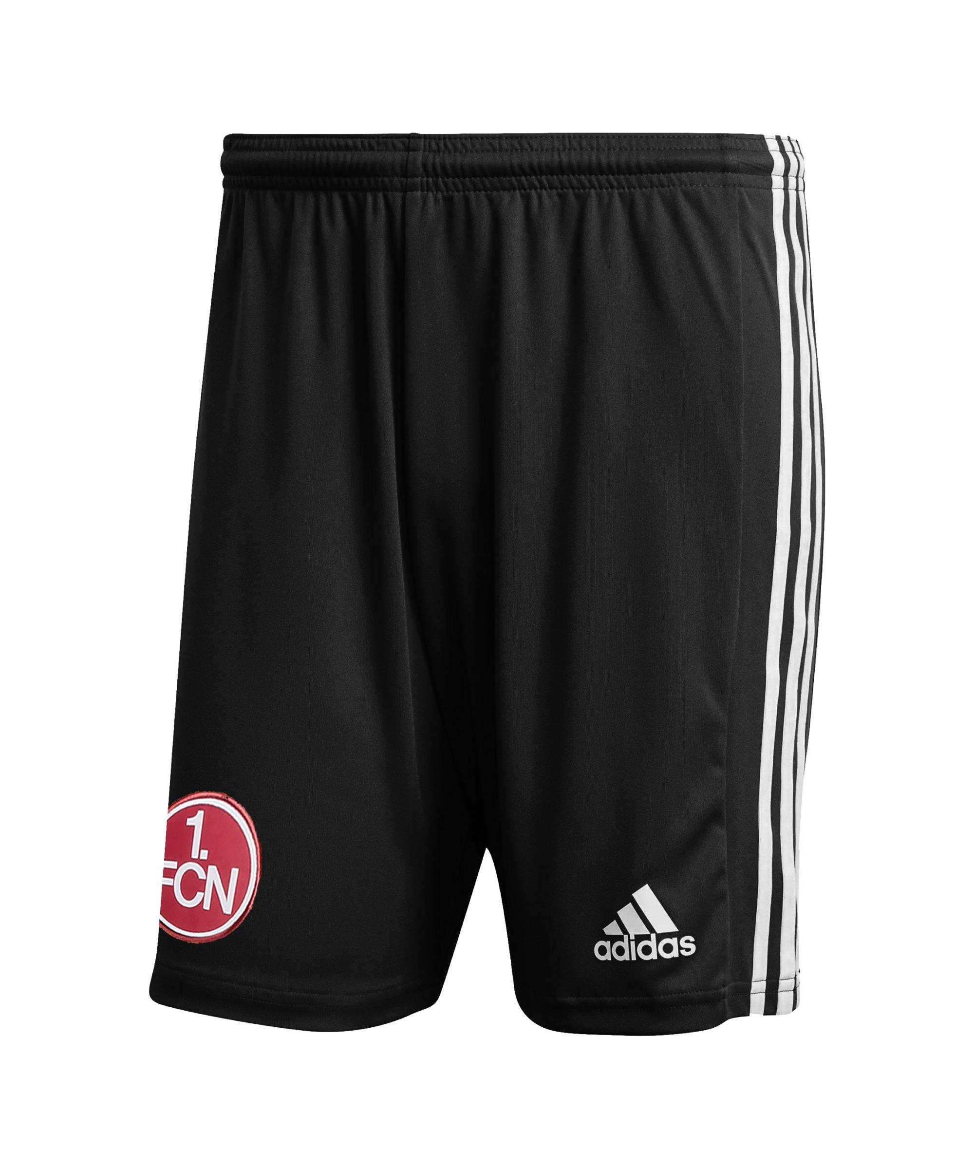 adidas 1. FC Nürnberg Short 3rd 2021/2022 Schwarz - schwarz