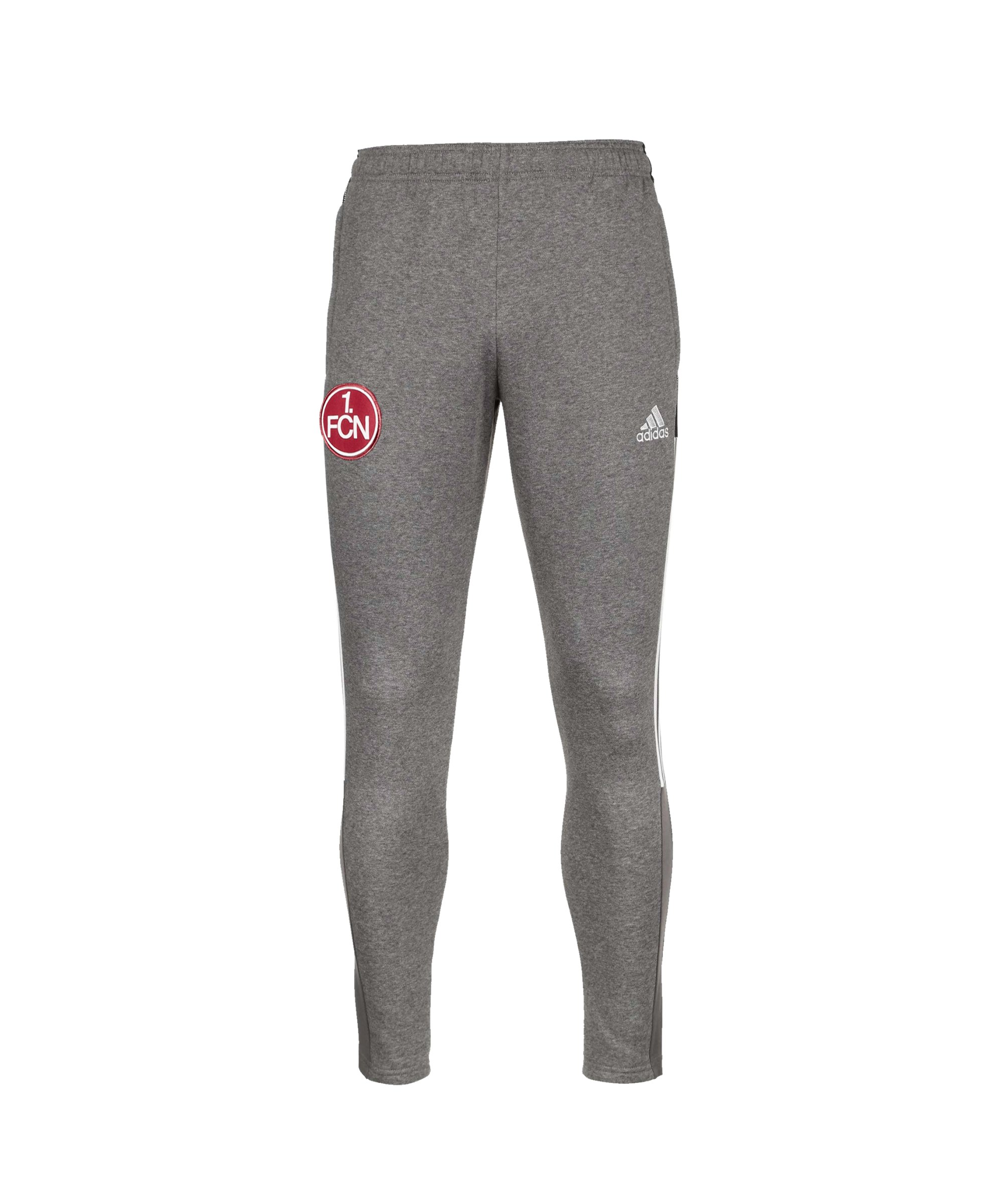 adidas 1. FC Nürnberg Jogginghose Grau - grau