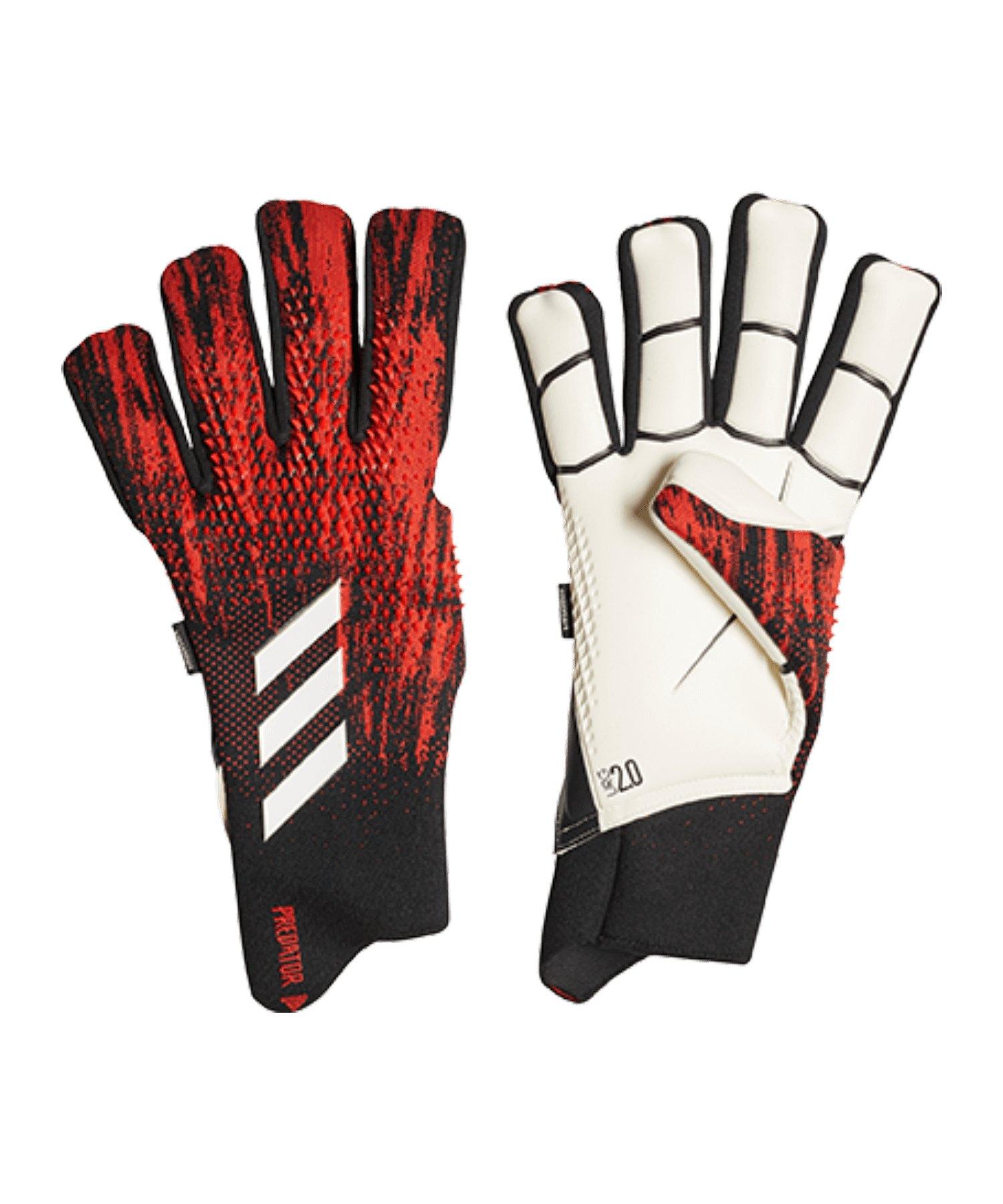 adidas Predator Pro FS TW-Handschuh Schwarz Rot - schwarz