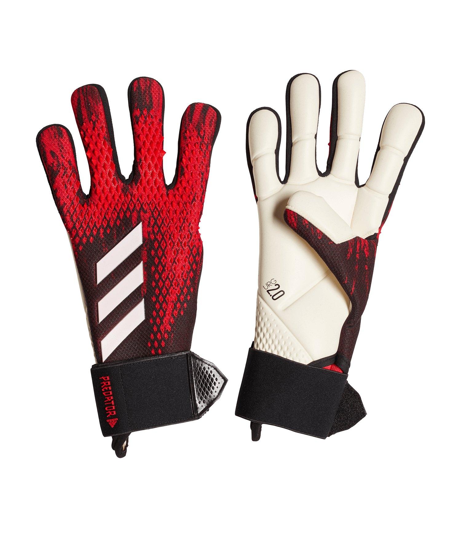 adidas Predator Com TW-Handschuh Schwarz Rot - schwarz