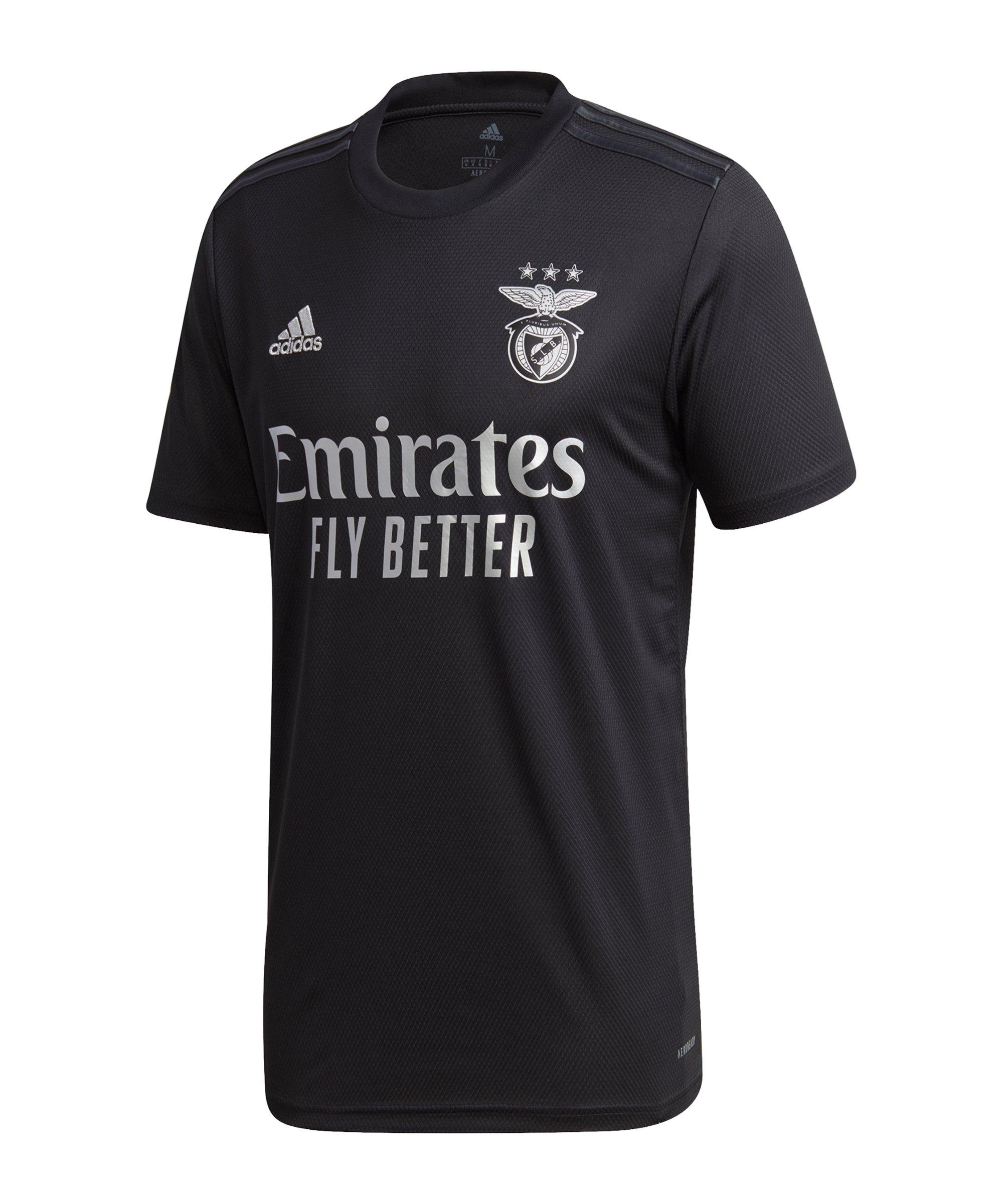 adidas Benfica Lissabon Trikot Away 2020/2021 - schwarz