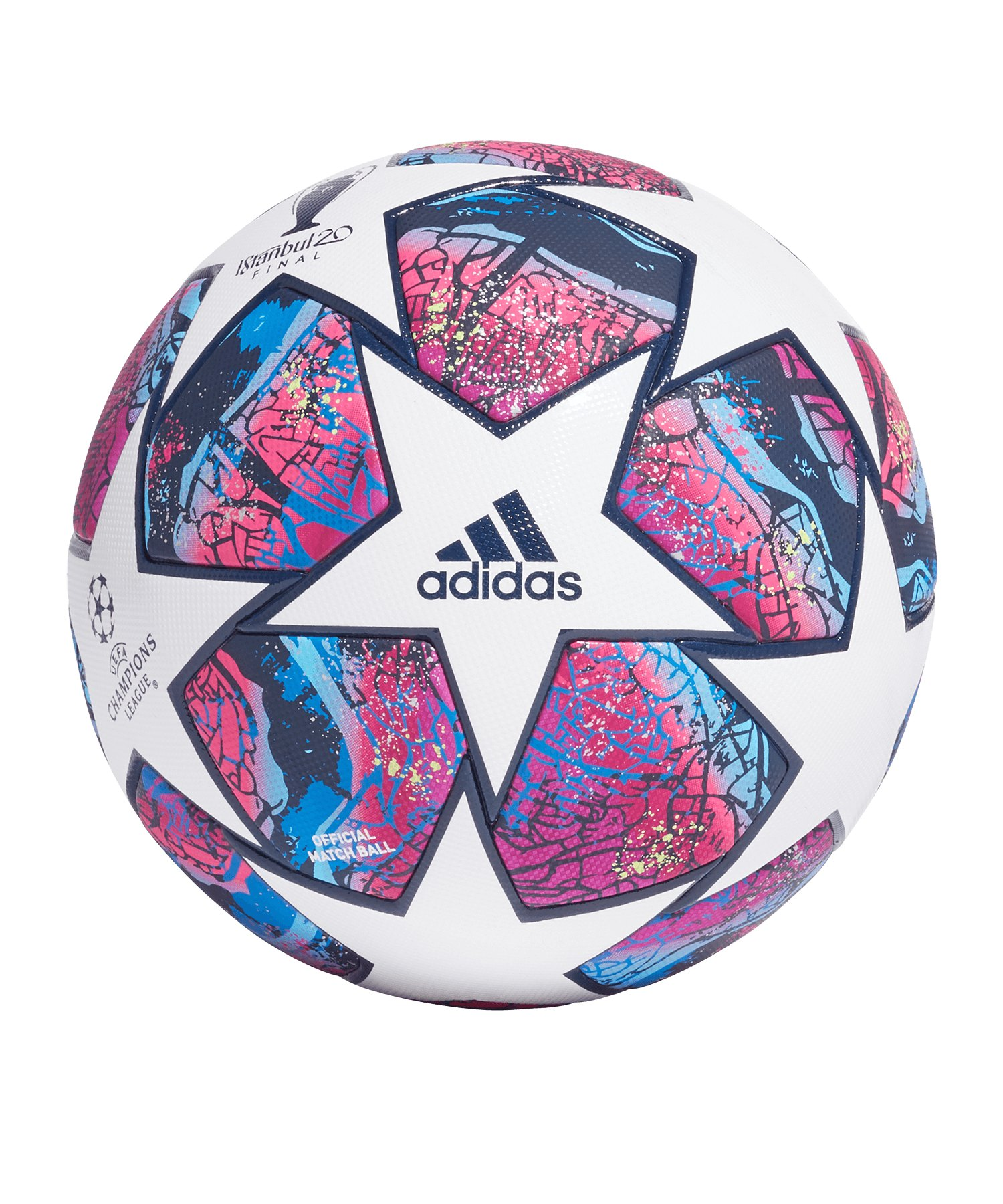 adidas Finale Istanbul Pro OMB Spielball Weiss - weiss