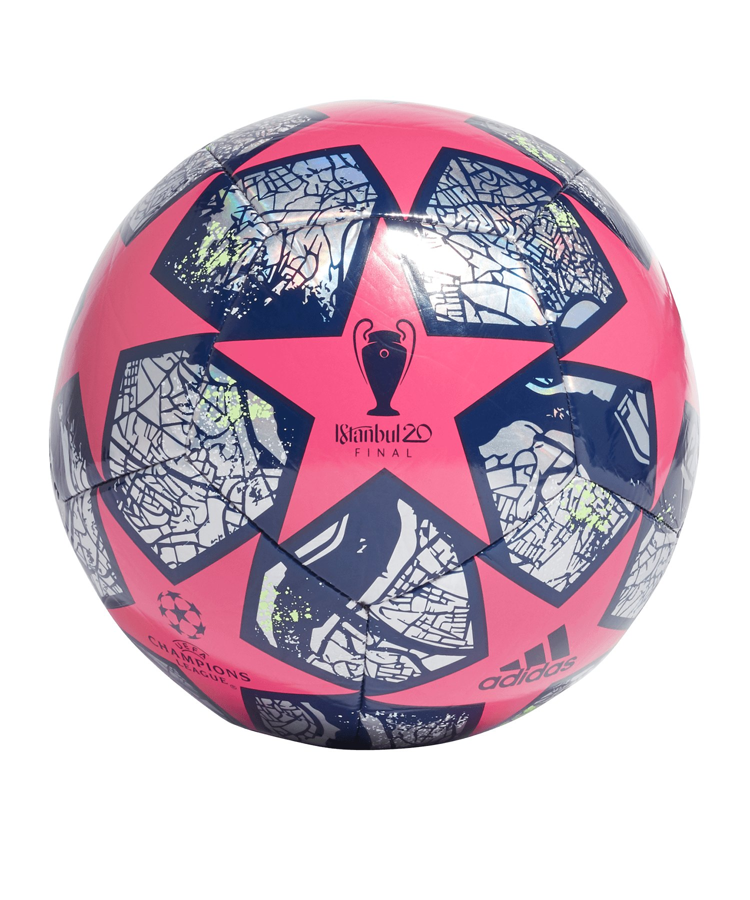 adidas Finale Istanbul Trainingsball Pink - pink