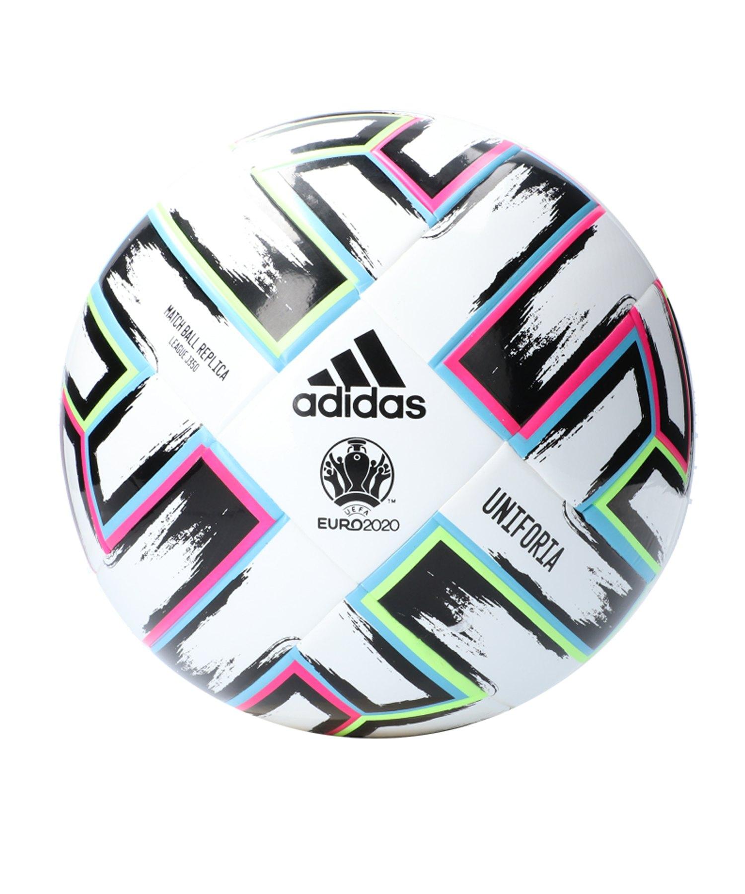 adidas LGE Uniforia 350 Gramm Fussball Weiss - weiss