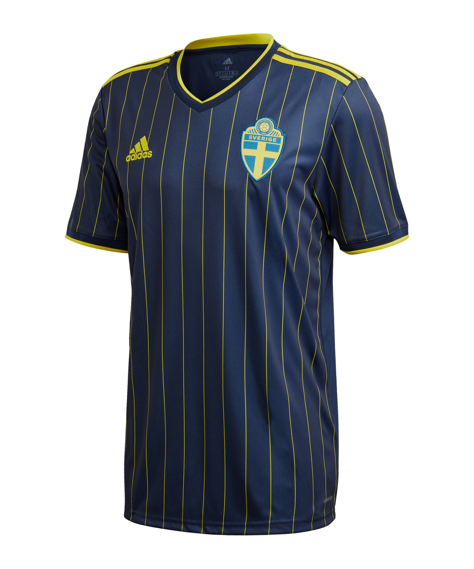 adidas Schweden Trikot Away EM 2020 Blau - blau