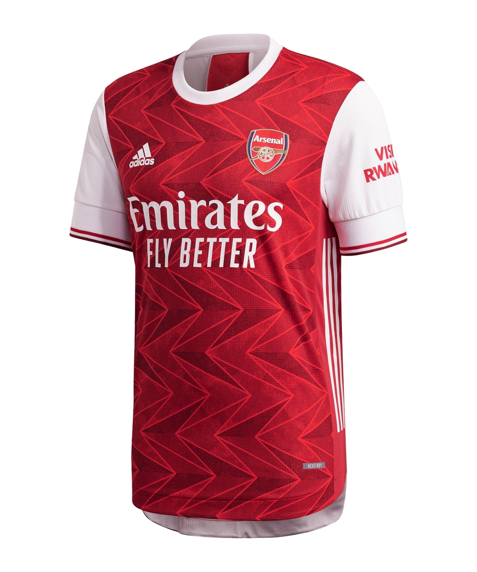 adidas FC Arsenal London Auth Trikot Home 20/21 2020/2021 - rot