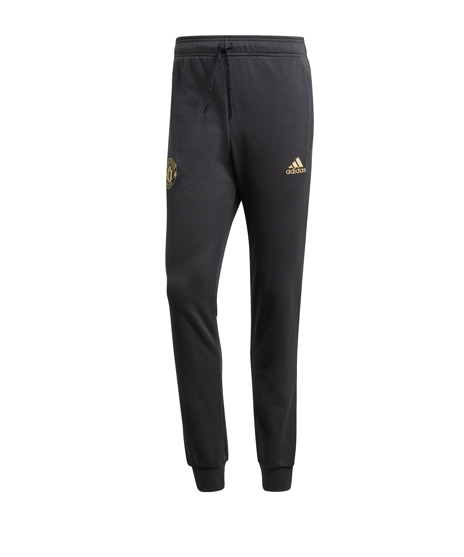 adidas Manchester United CNY Jogginghose Schwarz - grau