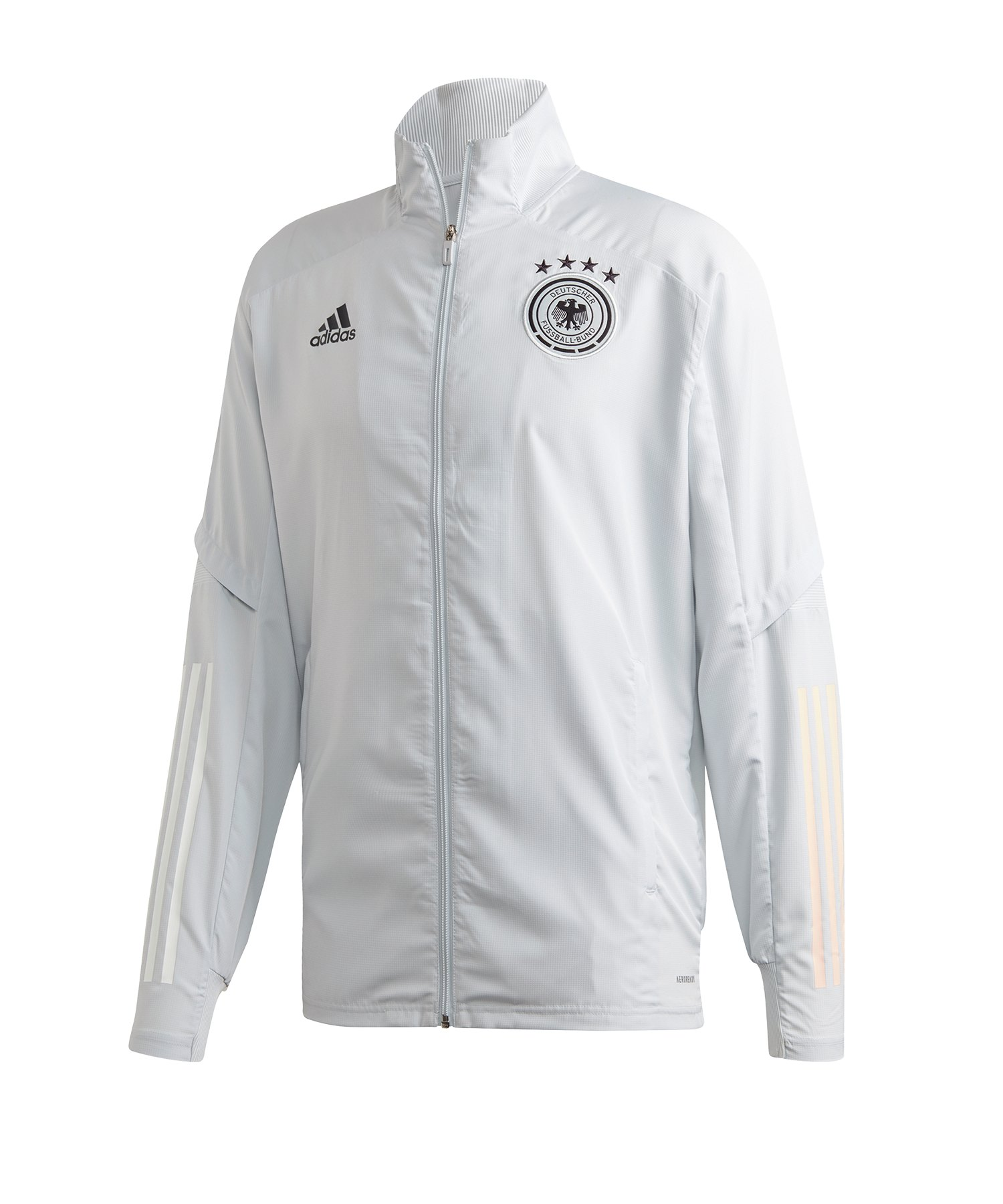 adidas DFB Deutschland Trainingsjacke Pre Weiss - weiss