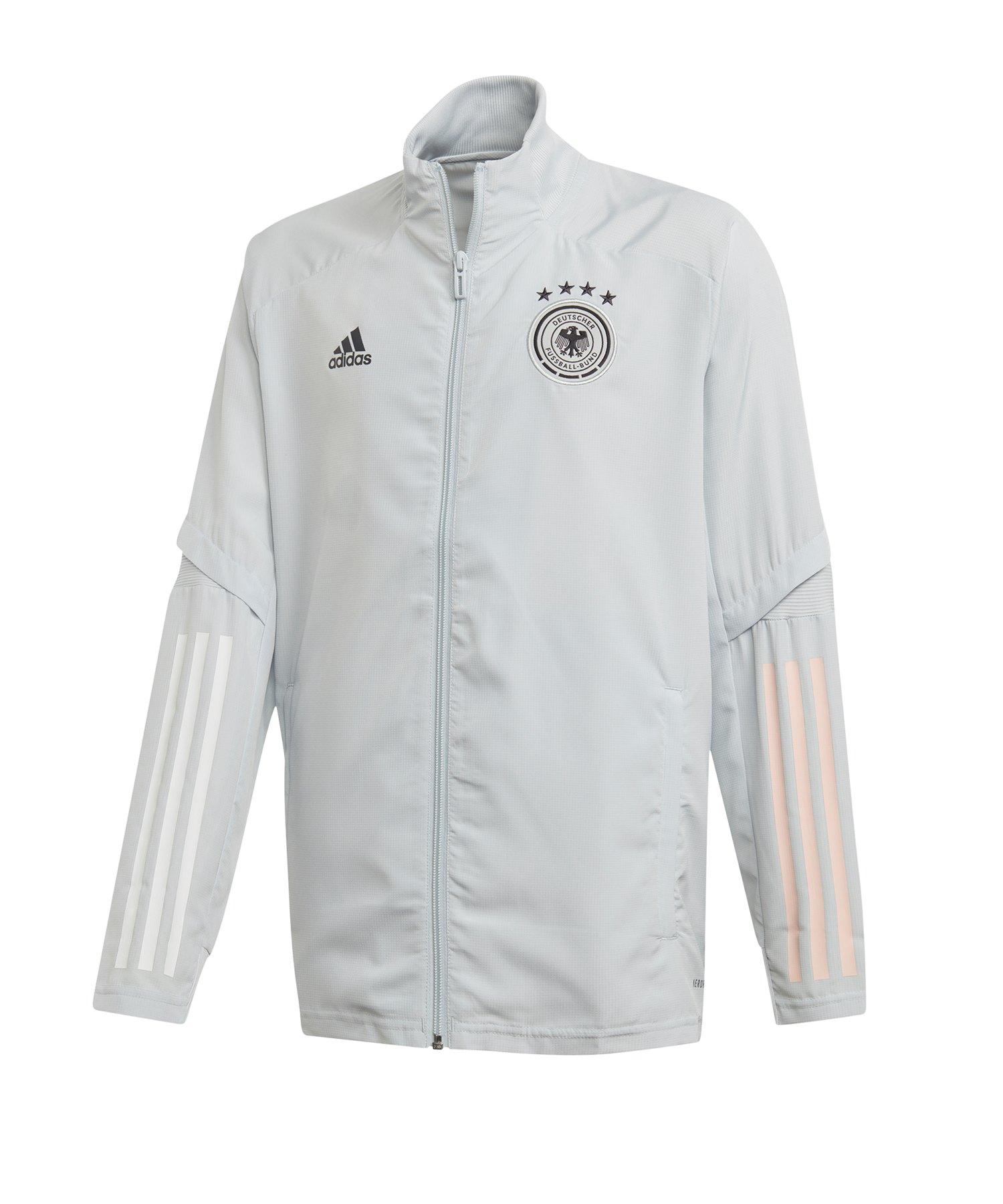 adidas DFB Deutschland Trainingsjacke Kids Weiss - weiss
