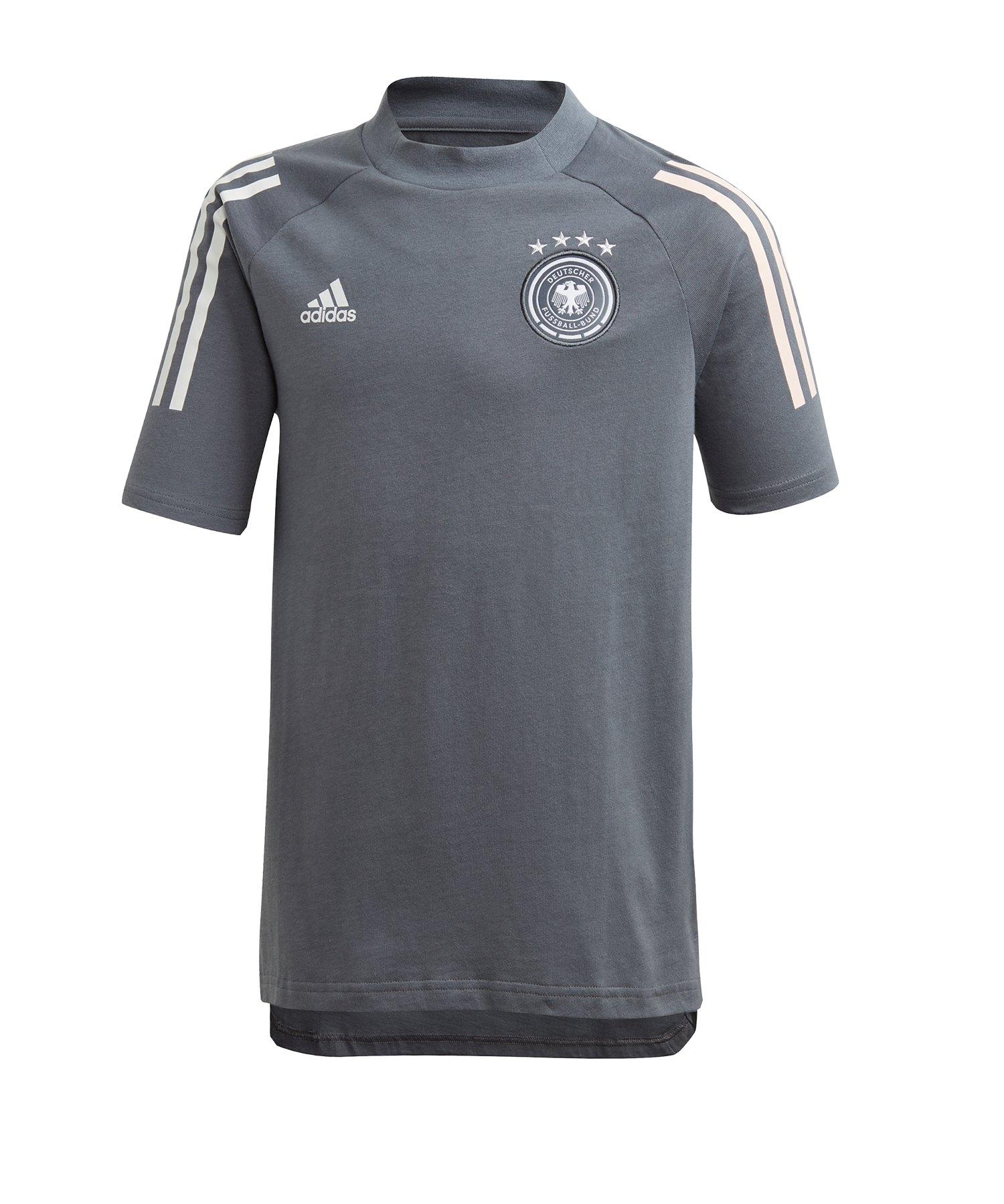 adidas DFB Deutschland Tee T-Shirt Kids Grau - grau