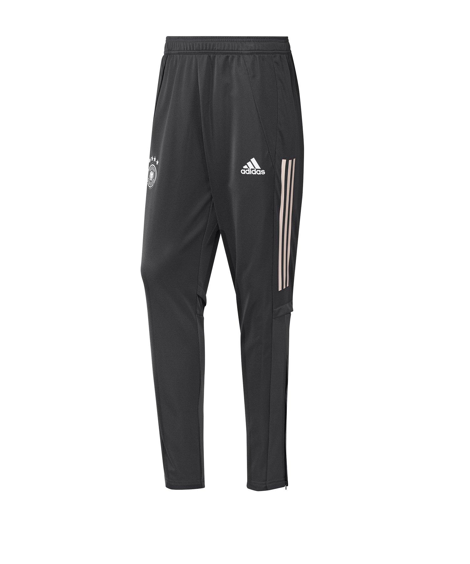 adidas DFB Deutschland Trainingshose lang Grau - grau
