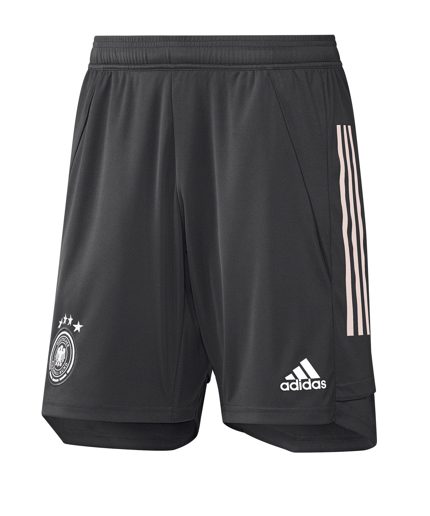 adidas DFB Deutschland Trainingsshort Schwarz - schwarz