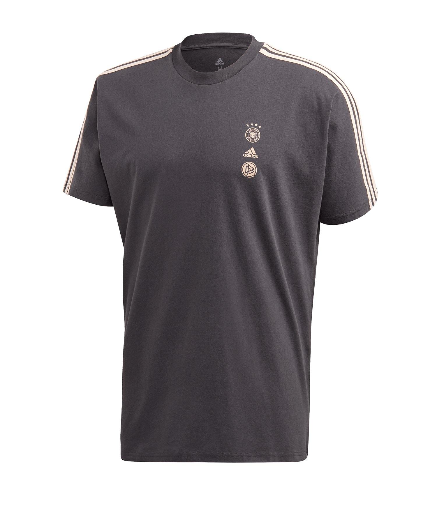adidas DFB Deutschland SSP Tee T-Shirt Grau - grau