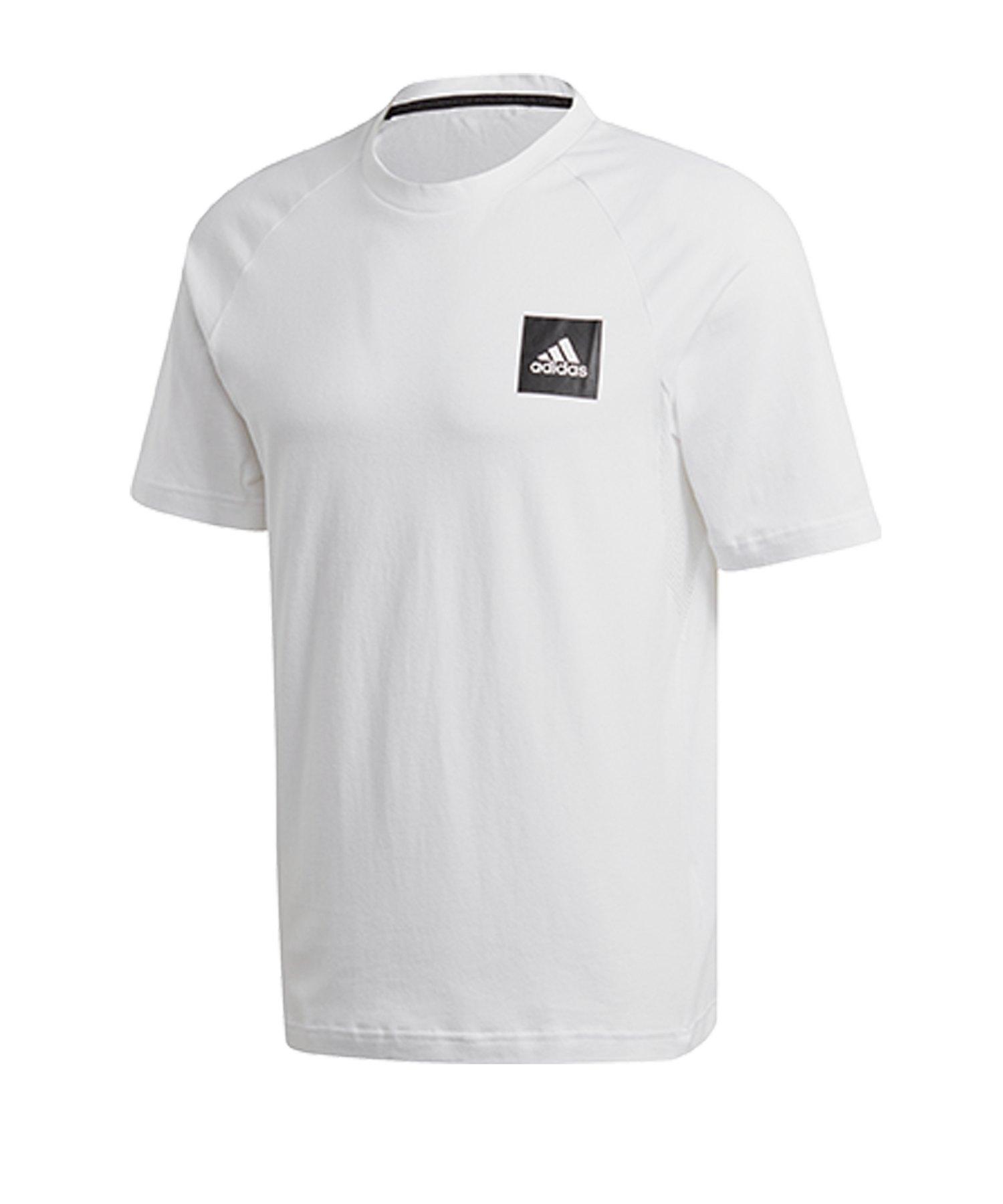 adidas MH Stadium T-Shirt Weiss - weiss