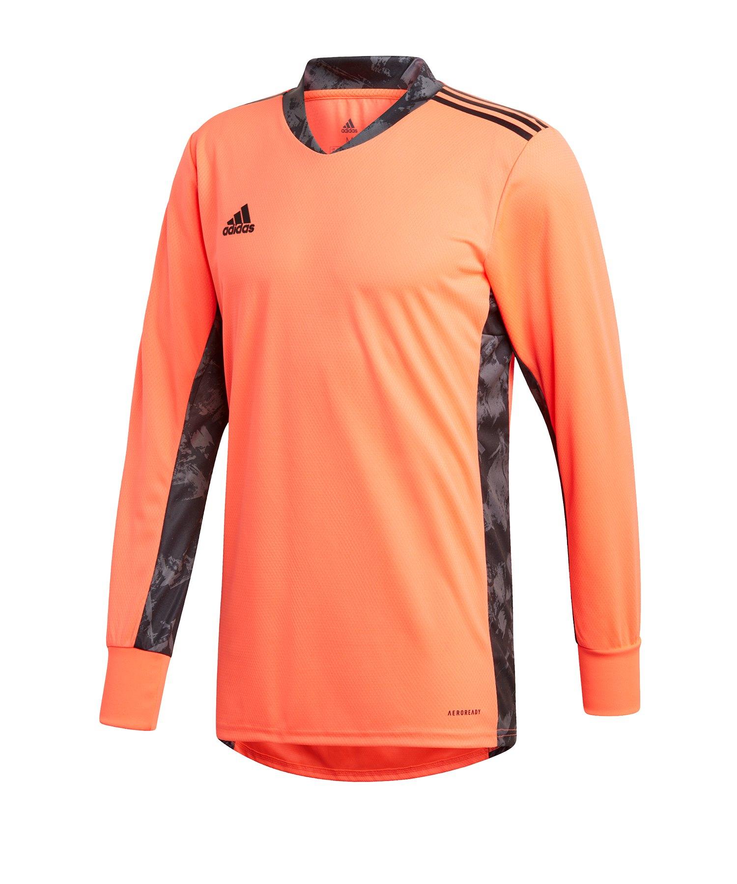 adidas AdiPro 20 Torwarttrikot langarmRot Schwarz - orange